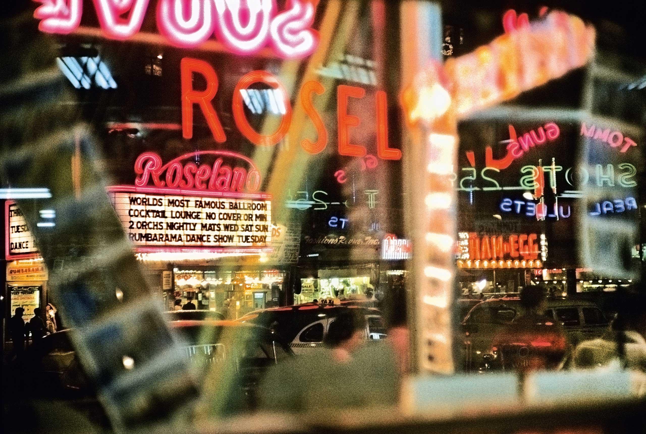 Broadway, 1954.