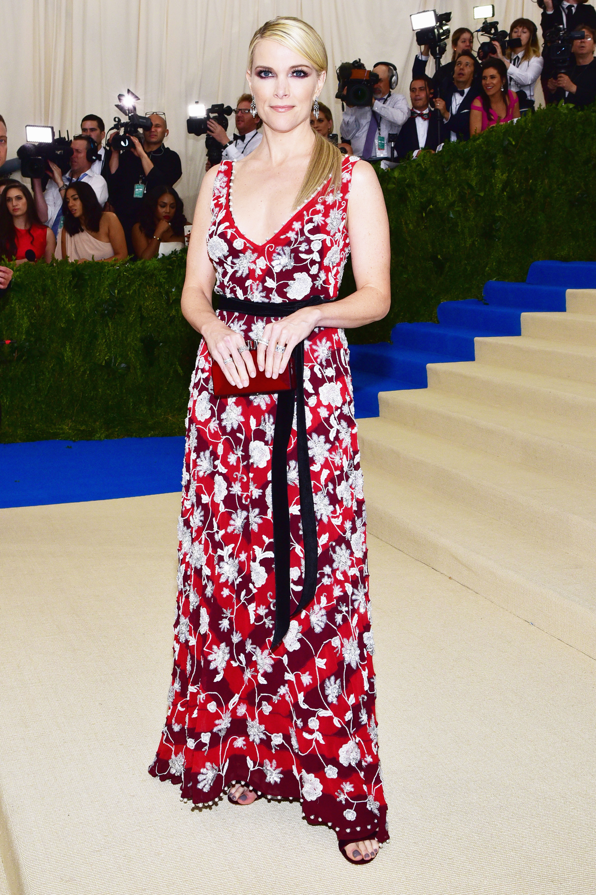Megyn Kelly attends The Metropolitan Museum of Art's Costume Institute benefit gala celebrating the opening of the Rei Kawakubo/Comme des Garçons: Art of the In-Between exhibition in New York City, on May 1, 2017.