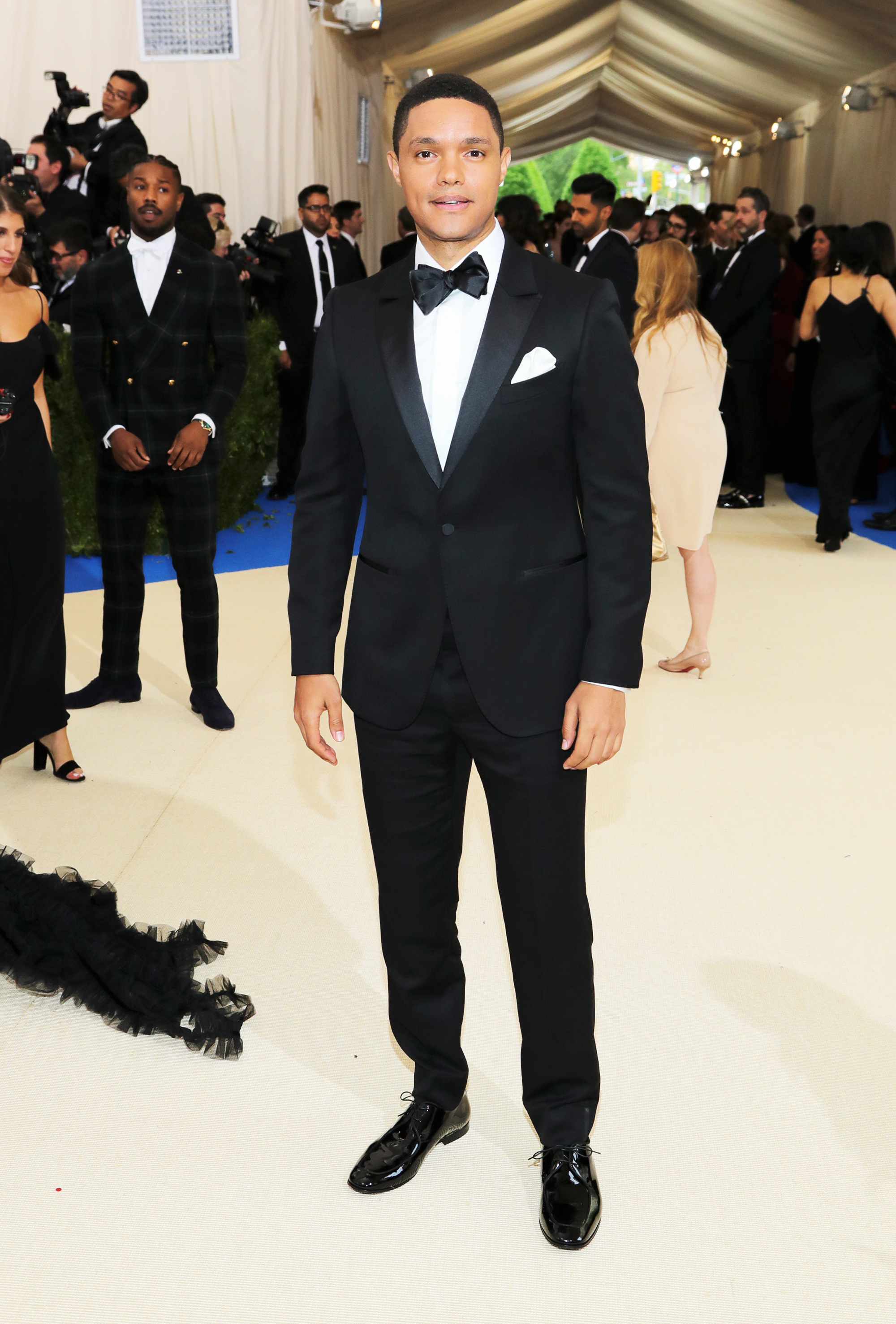 Trevor Noah attends The Metropolitan Museum of Art's Costume Institute benefit gala celebrating the opening of the Rei Kawakubo/Comme des Garçons: Art of the In-Between exhibition in New York City, on May 1, 2017.
