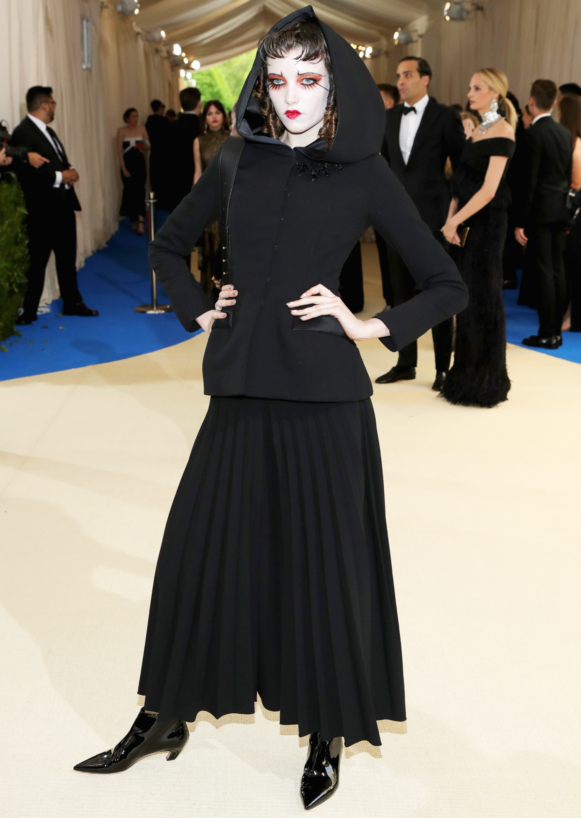 Grace Hartzel attends The Metropolitan Museum of Art's Costume Institute benefit gala celebrating the opening of the Rei Kawakubo/Comme des Garçons: Art of the In-Between exhibition in New York City, on May 1, 2017.