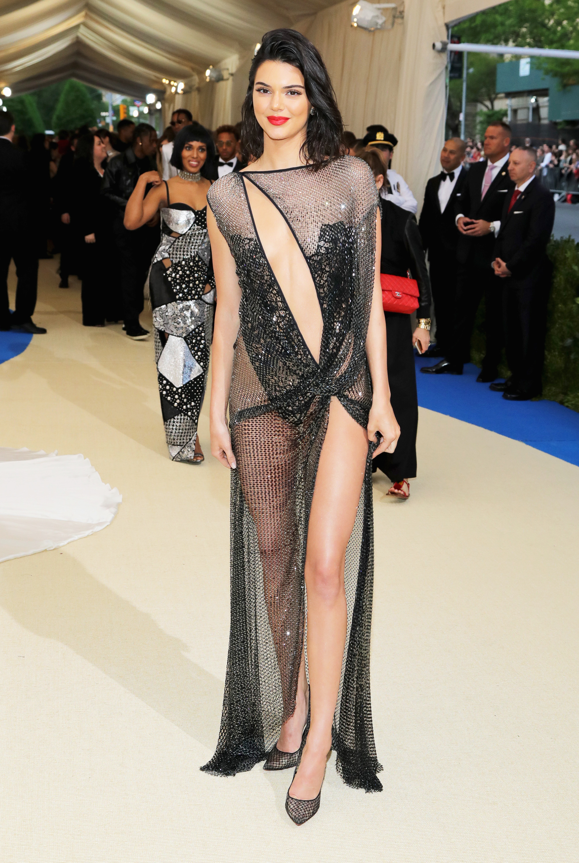 Kendall Jenner attends The Metropolitan Museum of Art's Costume Institute benefit gala celebrating the opening of the Rei Kawakubo/Comme des Garçons: Art of the In-Between exhibition in New York City, on May 1, 2017.