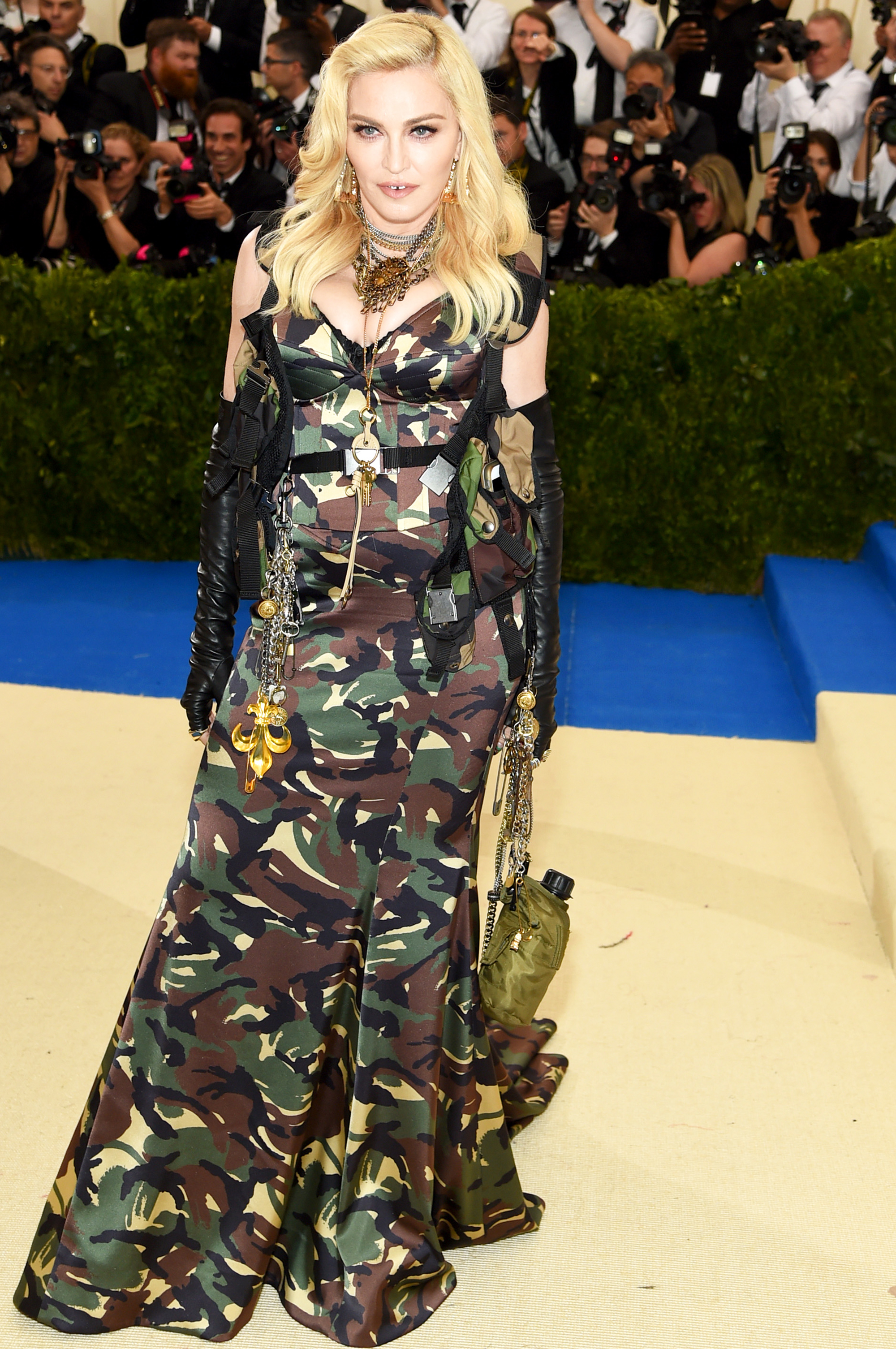 Madonna attends The Metropolitan Museum of Art's Costume Institute benefit gala celebrating the opening of the Rei Kawakubo/Comme des Garçons: Art of the In-Between exhibition in New York City, on May 1, 2017.