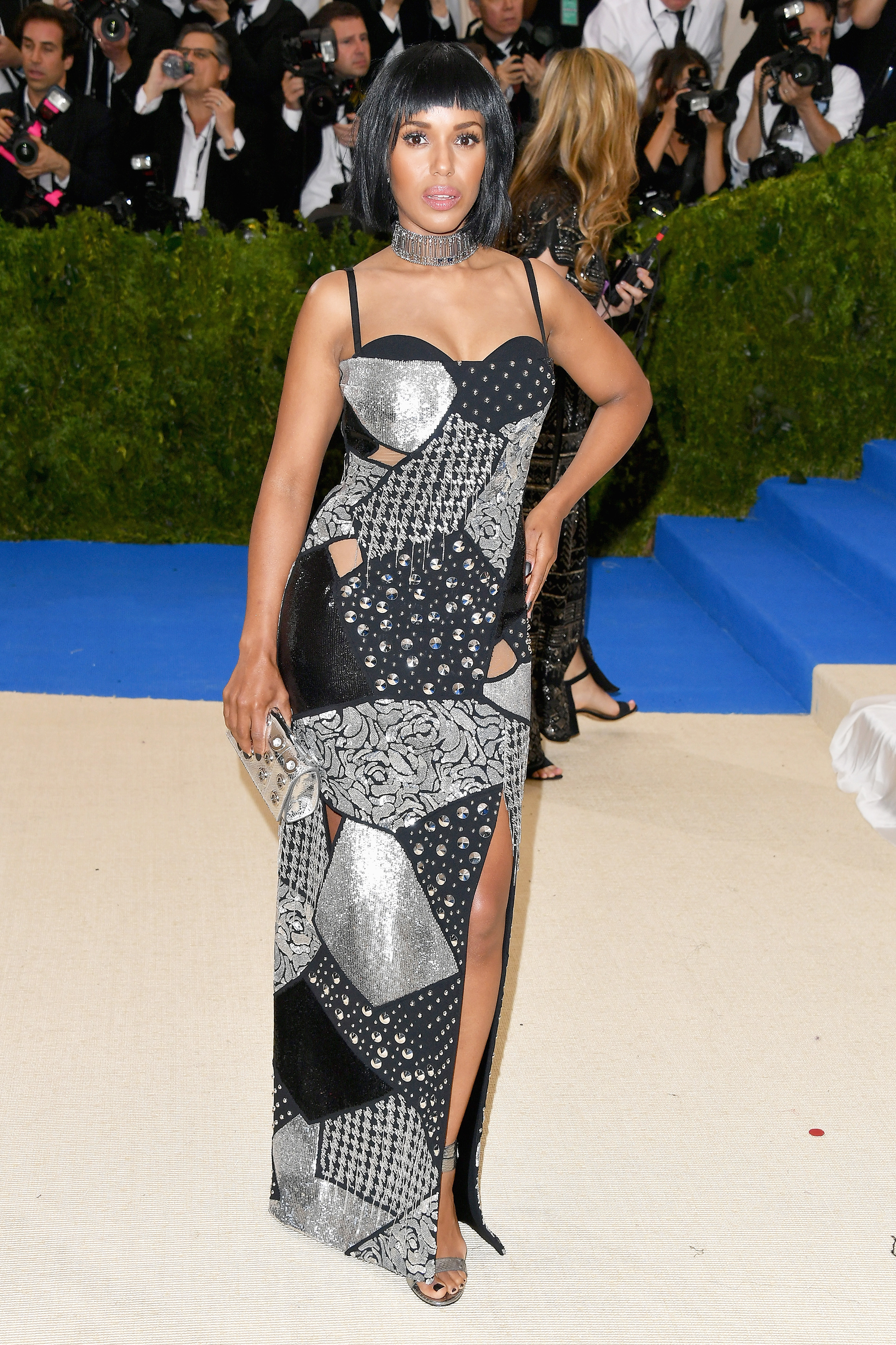Kerry Washington attends The Metropolitan Museum of Art's Costume Institute benefit gala celebrating the opening of the Rei Kawakubo/Comme des Garçons: Art of the In-Between exhibition in New York City, on May 1, 2017.