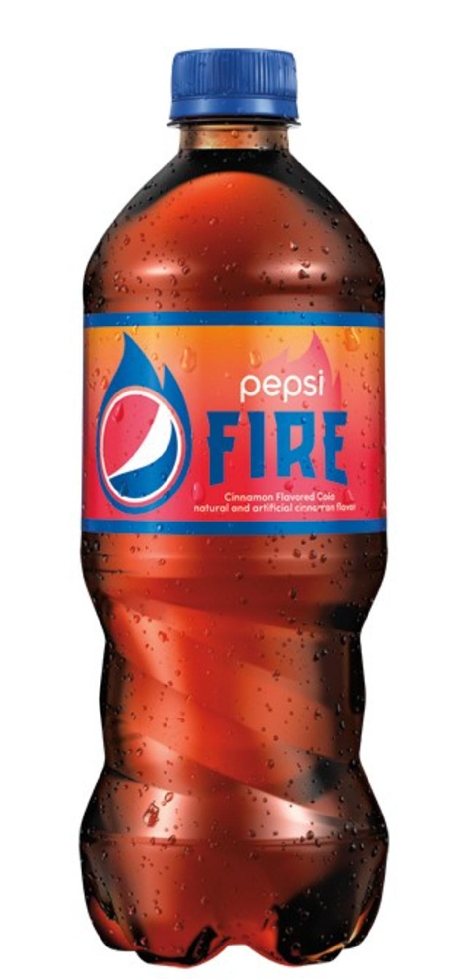 Pepsi launches limited-edition cinnamon flavored cola, Pepsi Fire.