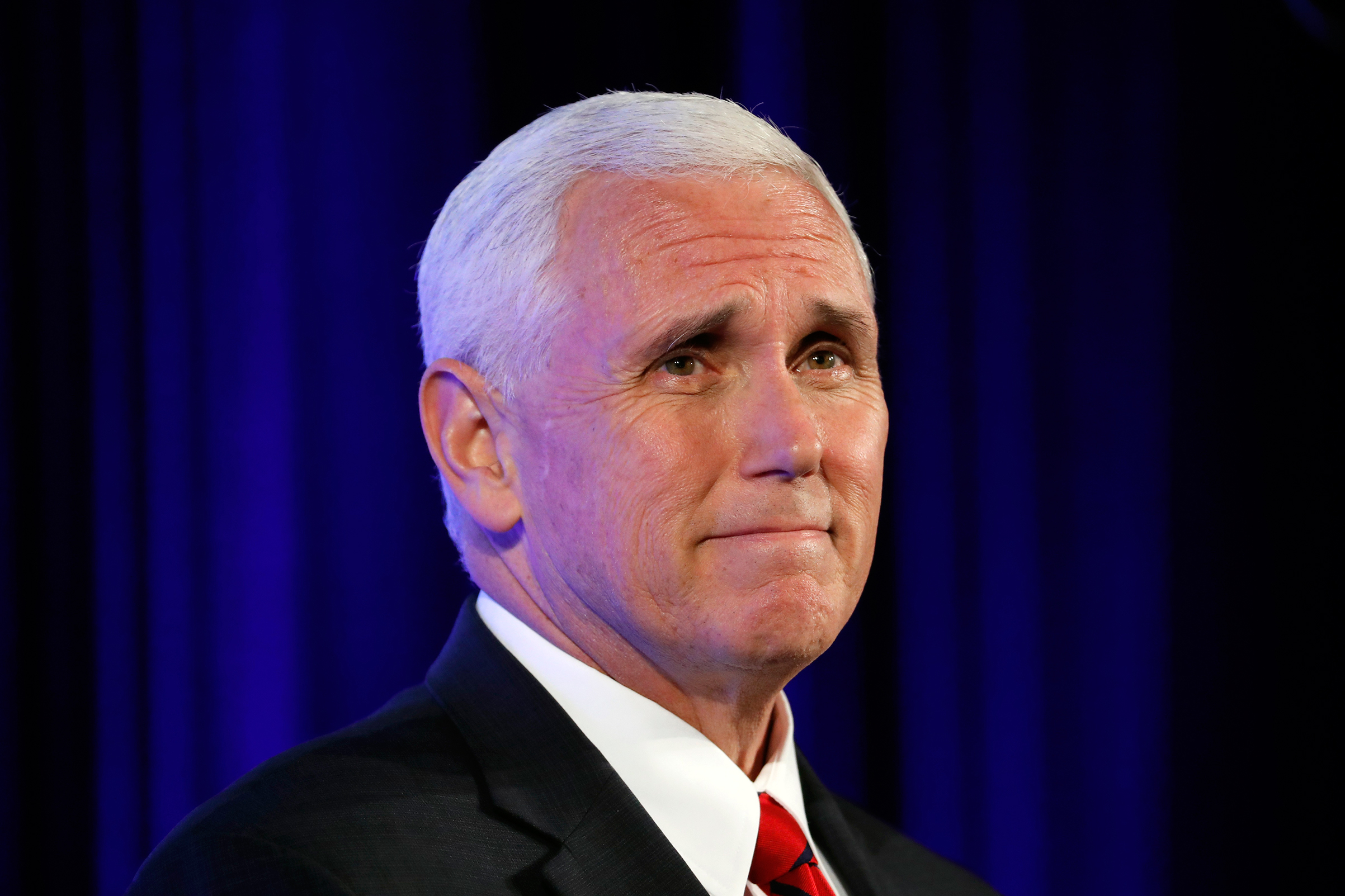 More than almost anyone in Trump's circle, Pence is in demand