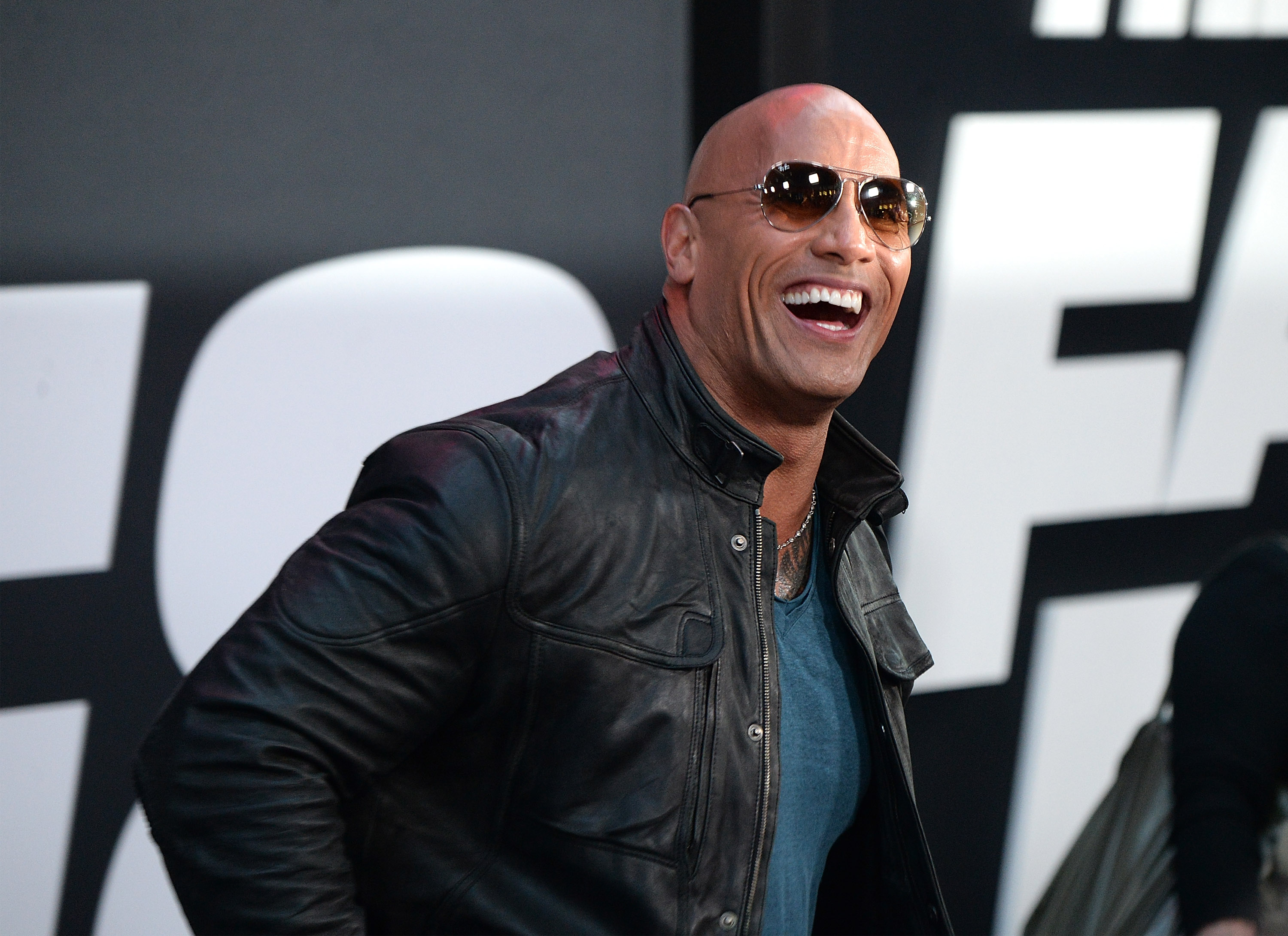 NEW YORK, NY - APRIL 08:  Dwayne Johnson attends  The Fate Of The Furious  New York premiere at Radio City Music Hall on April 8, 2017 in New York City.  (Photo by Kevin Mazur/Getty Images)