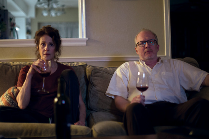 Debra Winger and Tracy Letts star in 'The Lovers.'