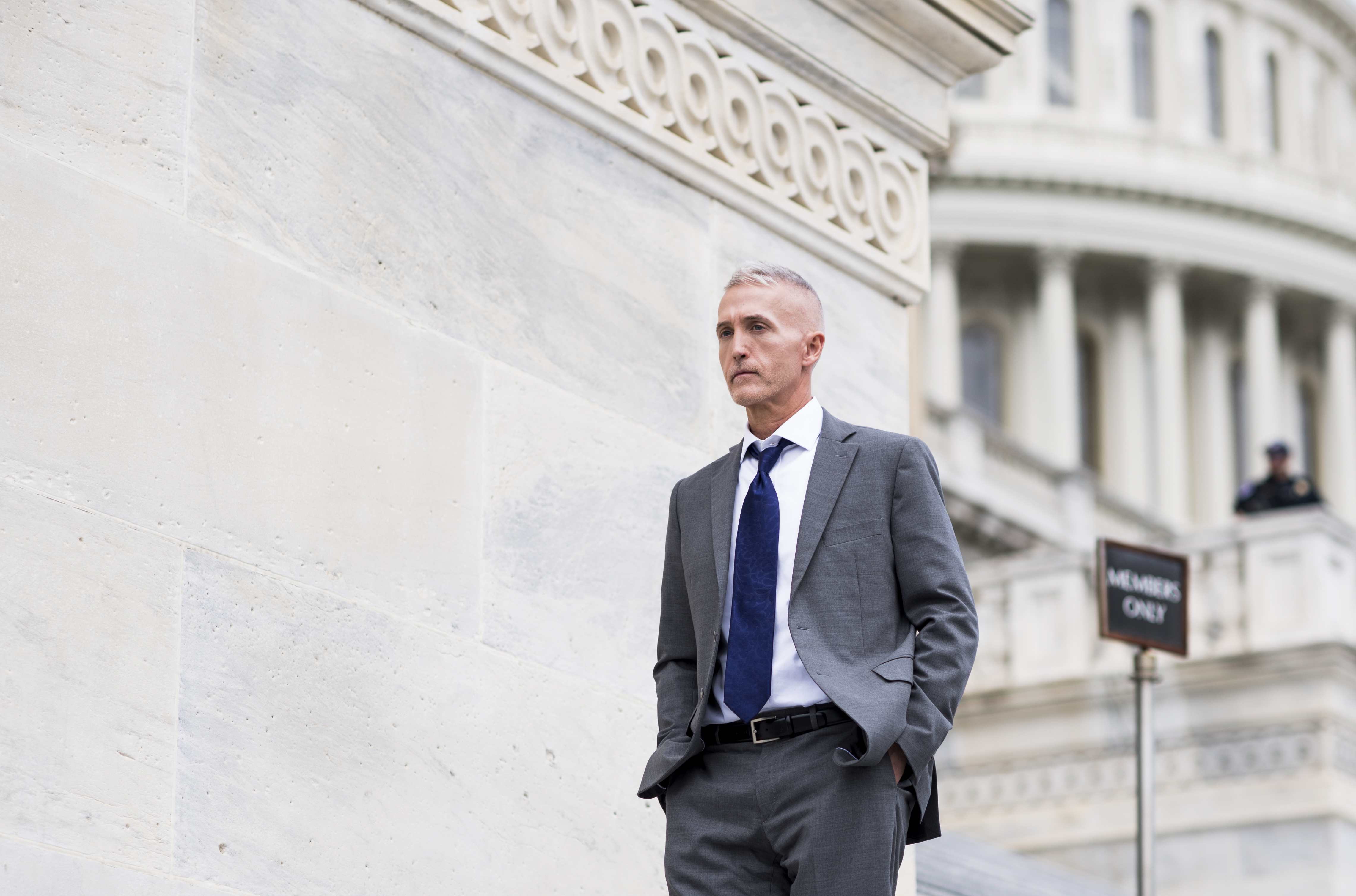 Rep. Trey Gowdy, R-S.C., walks down the House steps at the Capitol on May 4, 2017.