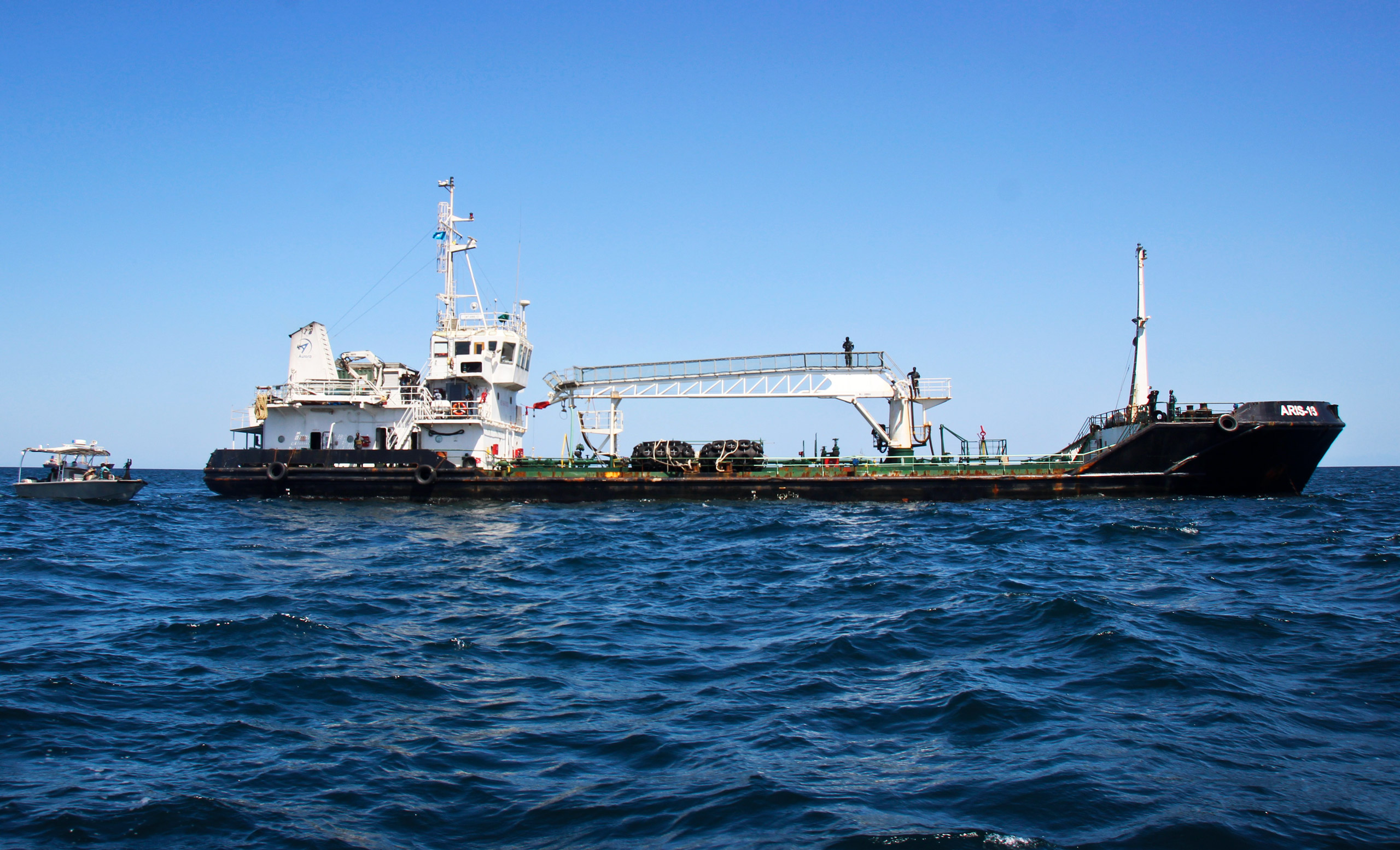 The Aris13 was hijacked off Somalia in March