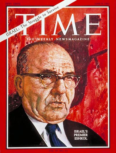 The June 9, 1967, cover of TIME