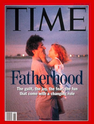Ralph LaRossa, a historian and expert on fatherhood, says this Jun. 28, 1993, cover story on fatherhood was illustrative of a new public awareness of a  new fatherhood movement  that pushed dads to get more involved in their kids lives.