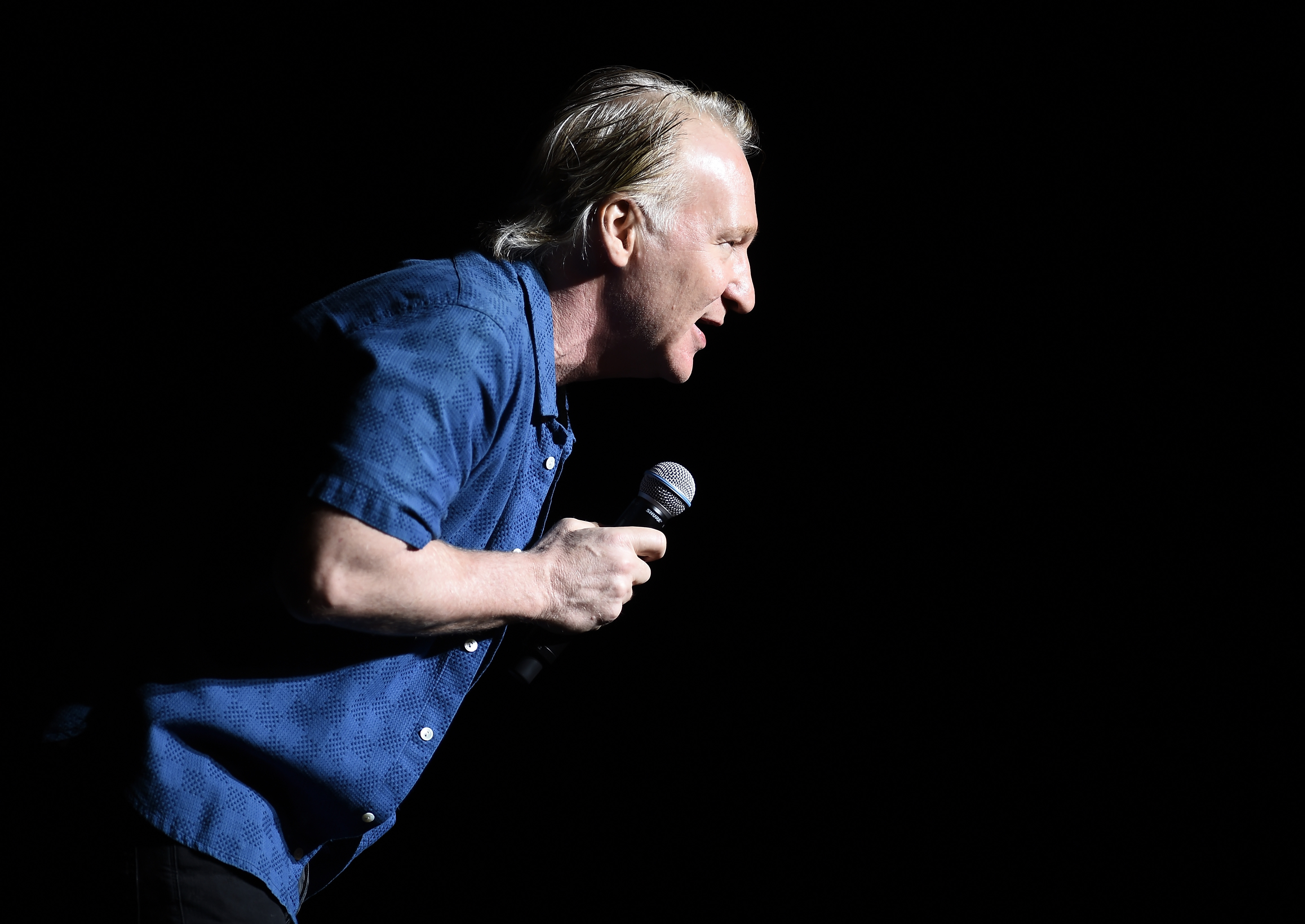 Bill Maher performs during New York Comedy Festival at The Theater at Madison Square Garden on Nove. 5, 2016 in New York City.