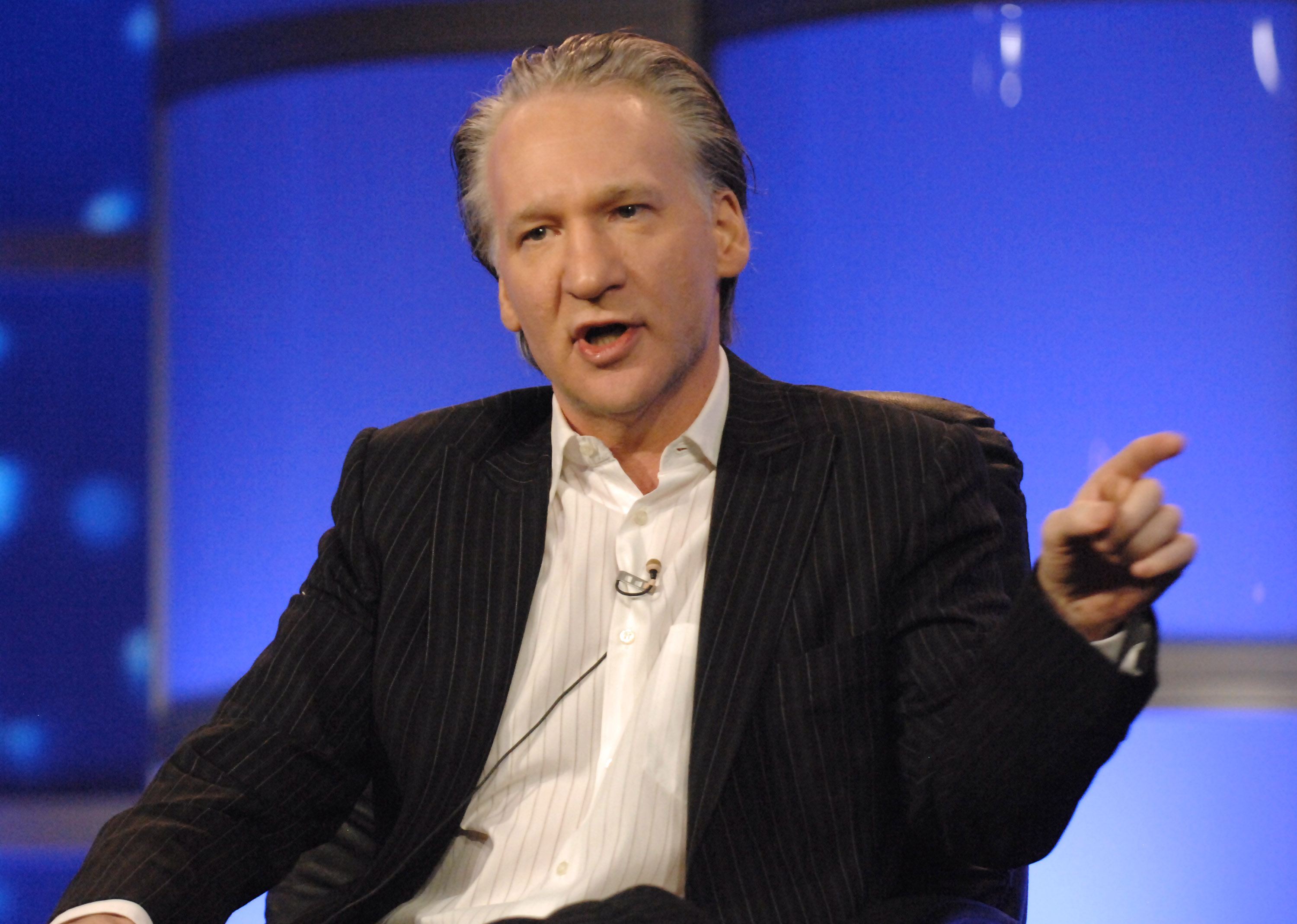 Bill Maher of Real Time with Bill Maher during HBO Winter 2007 TCA Press Tour in Los Angeles, California, United States. (Photo by Jeff Kravitz/FilmMagic, Inc for HBO Films)