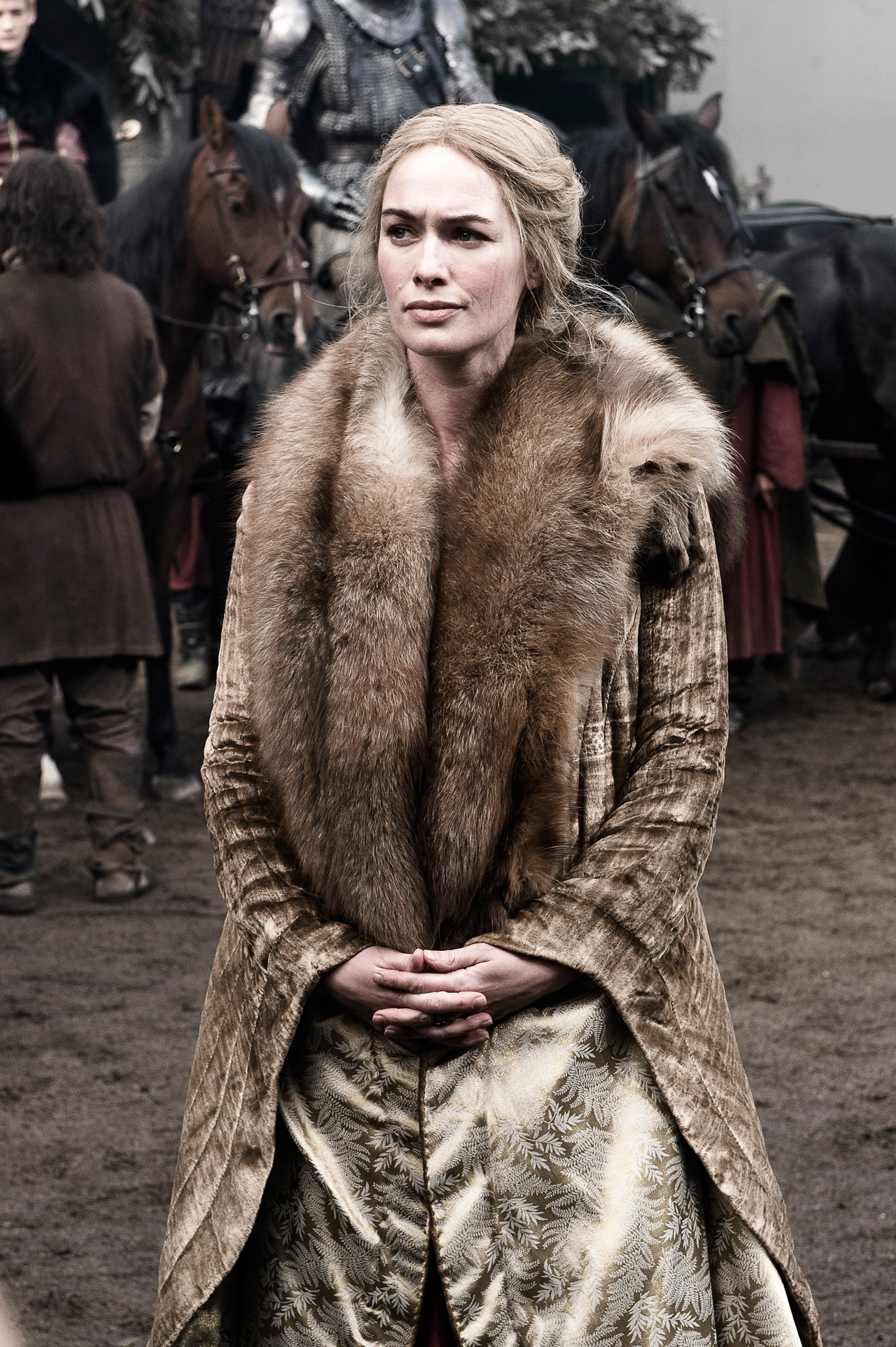 Cersei Lannister in Season 1 of Game of Thrones