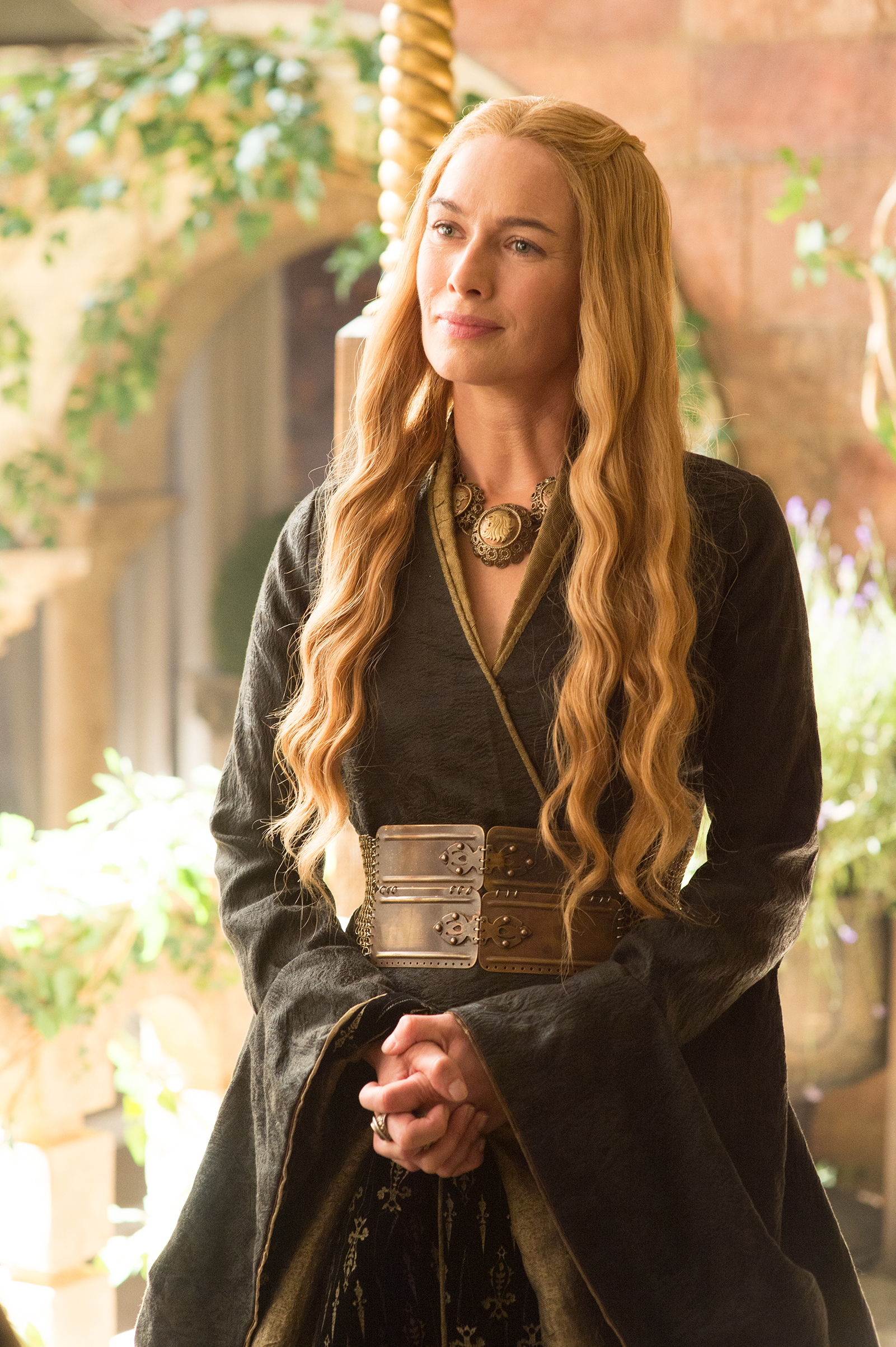 Cersei Lannister in Season 5 of Game of Thrones