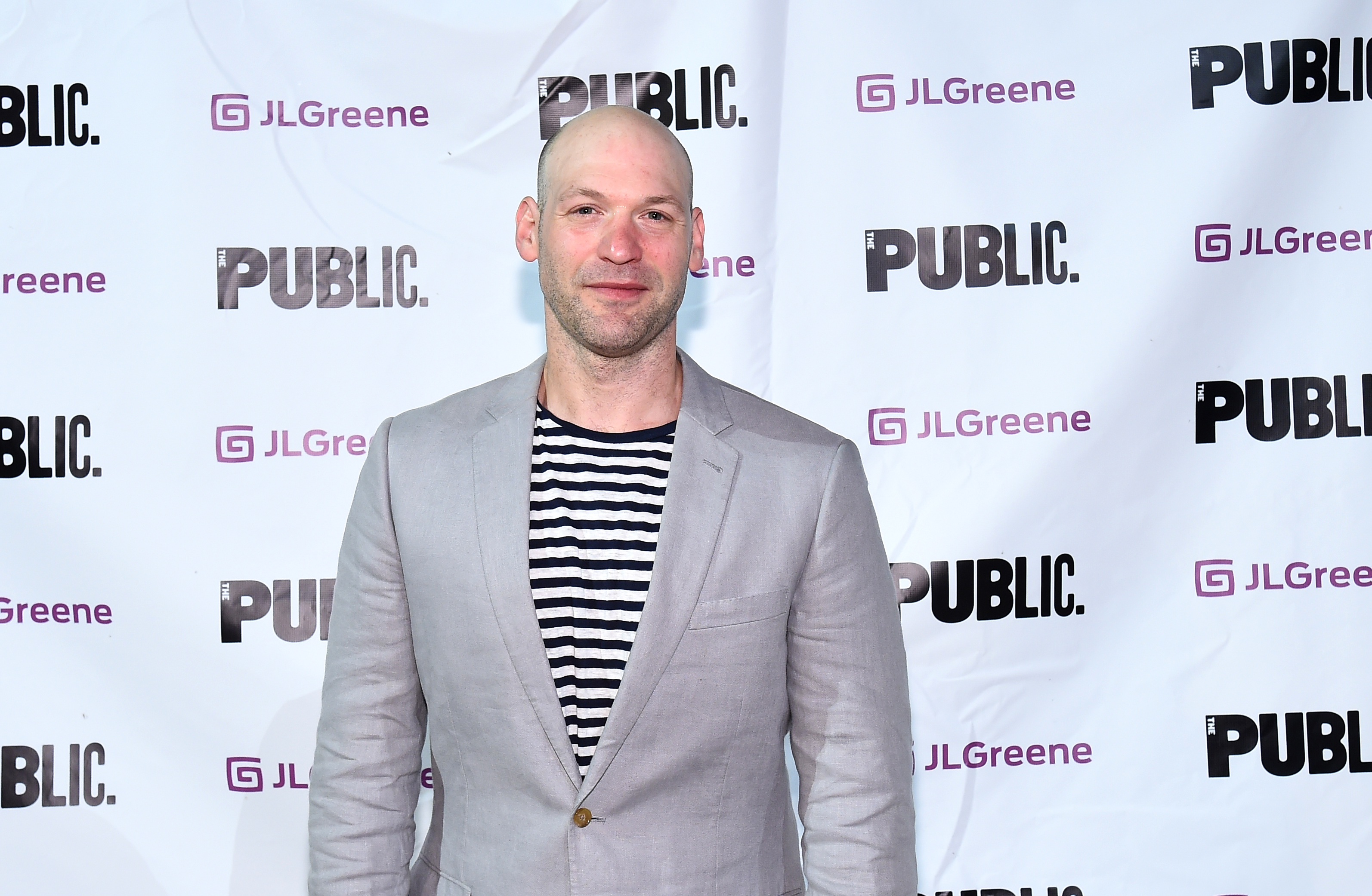 Corey Stoll attends  Julius Caesar  Opening Night at Delacorte Theater on June 12, 2017 in New York City.
