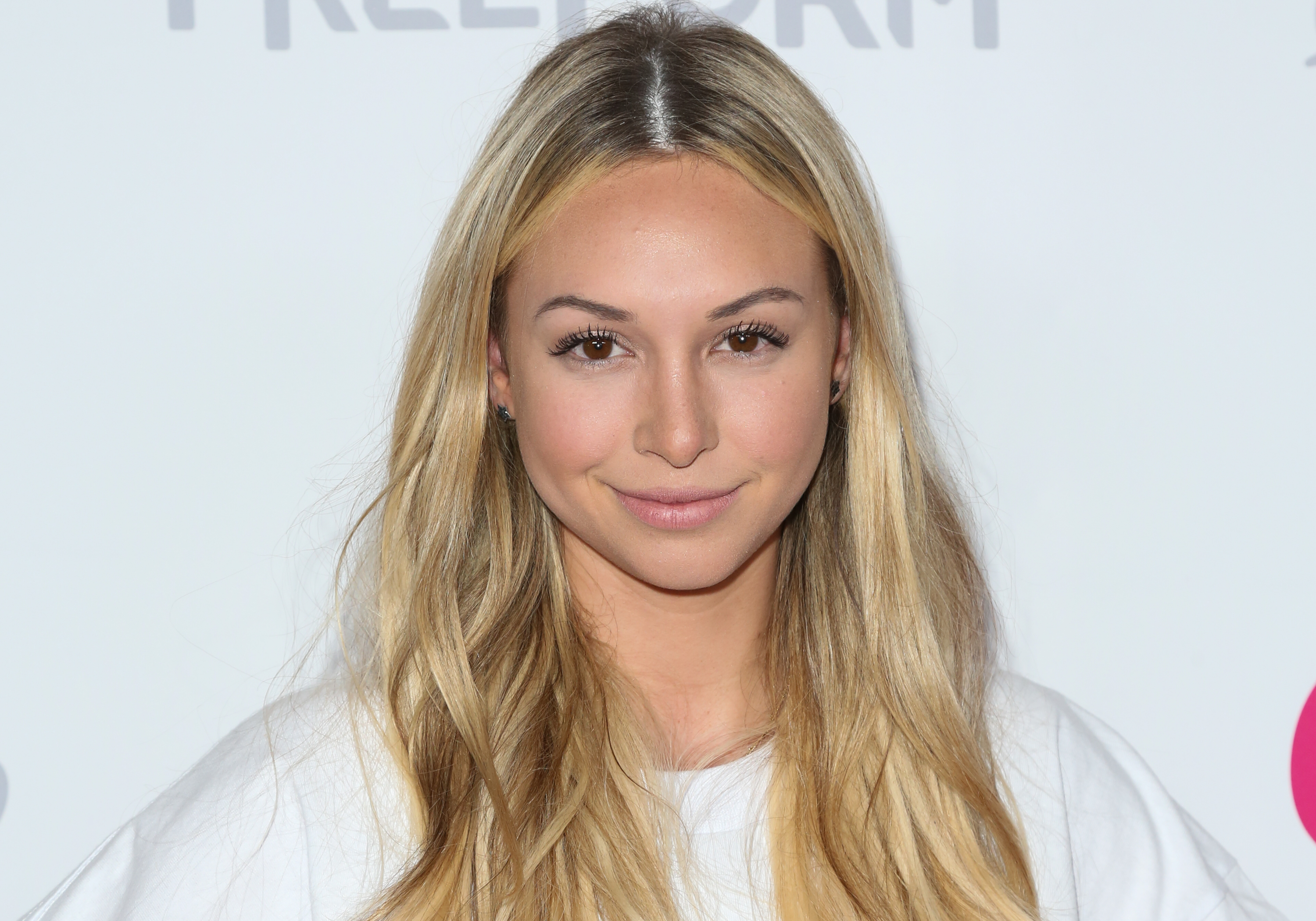 Reality TV Personality Corinne Olympios attends OK! Magazine's Summer kick-off party at The W Hollywood on May 17, 2017 in Hollywood, Calif.