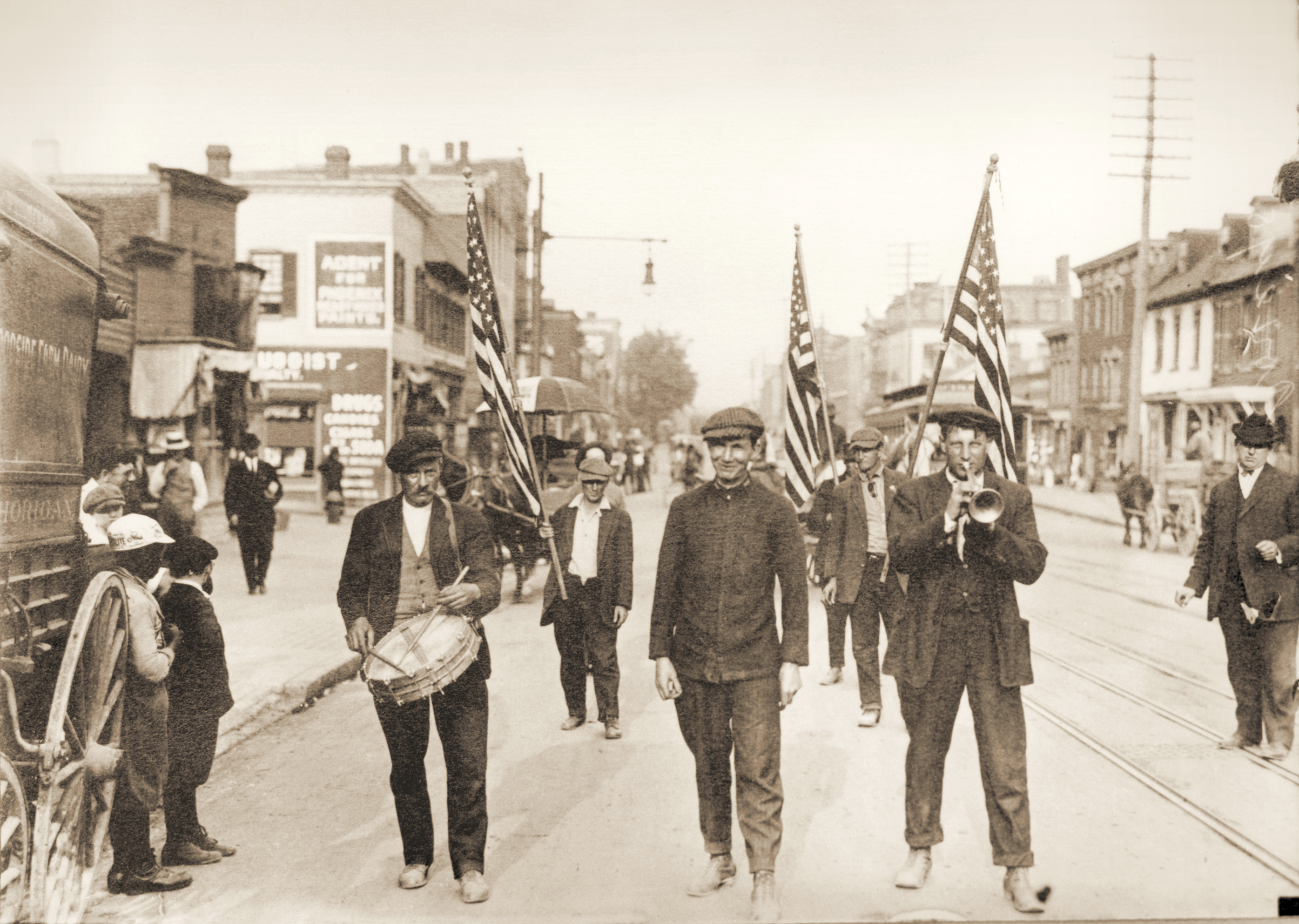 Coxey's Army Marches For The Unemployed, 1894