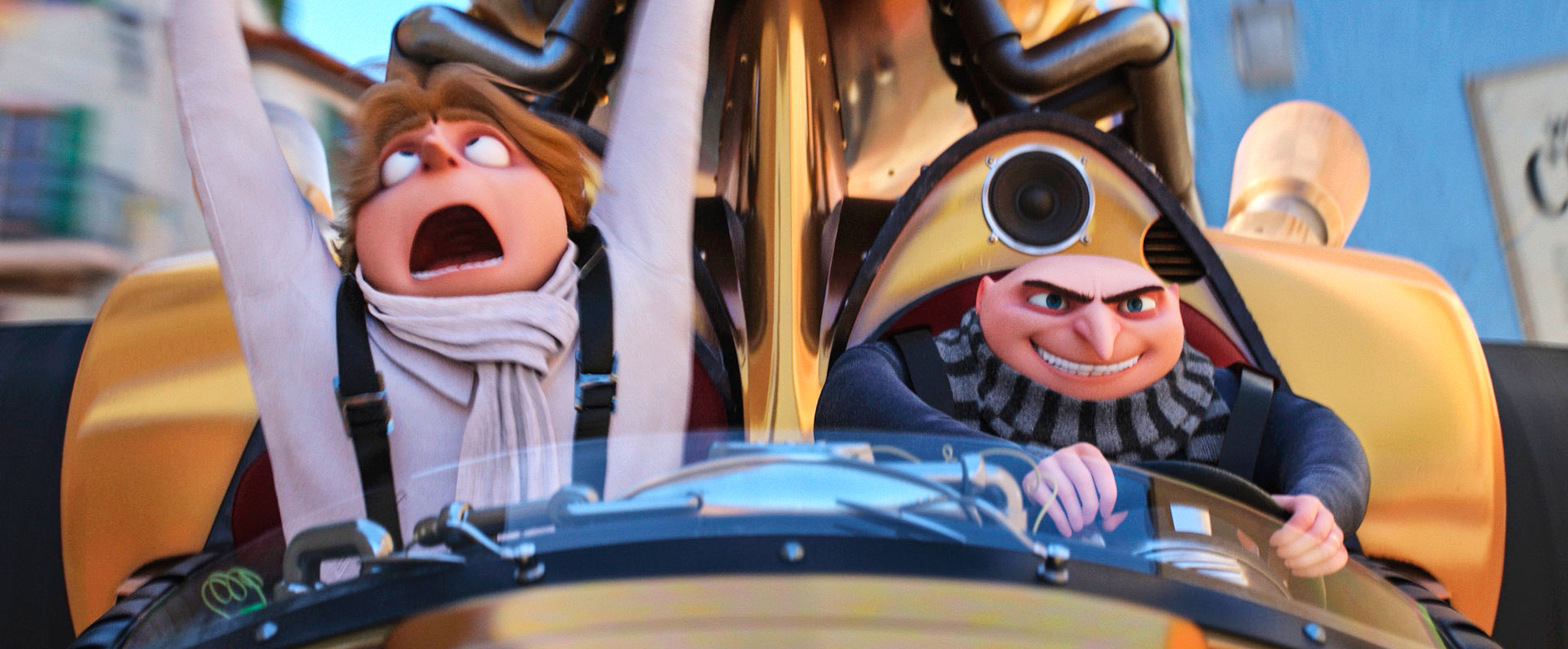 Twins Dru and Gru make for a dastardly duo in Despicable Me 3