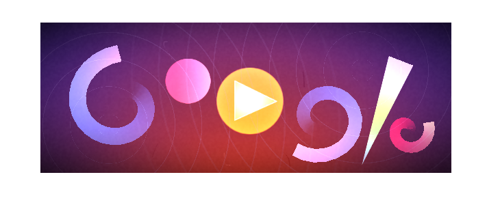 Oskar Fischinger Google Doodle.