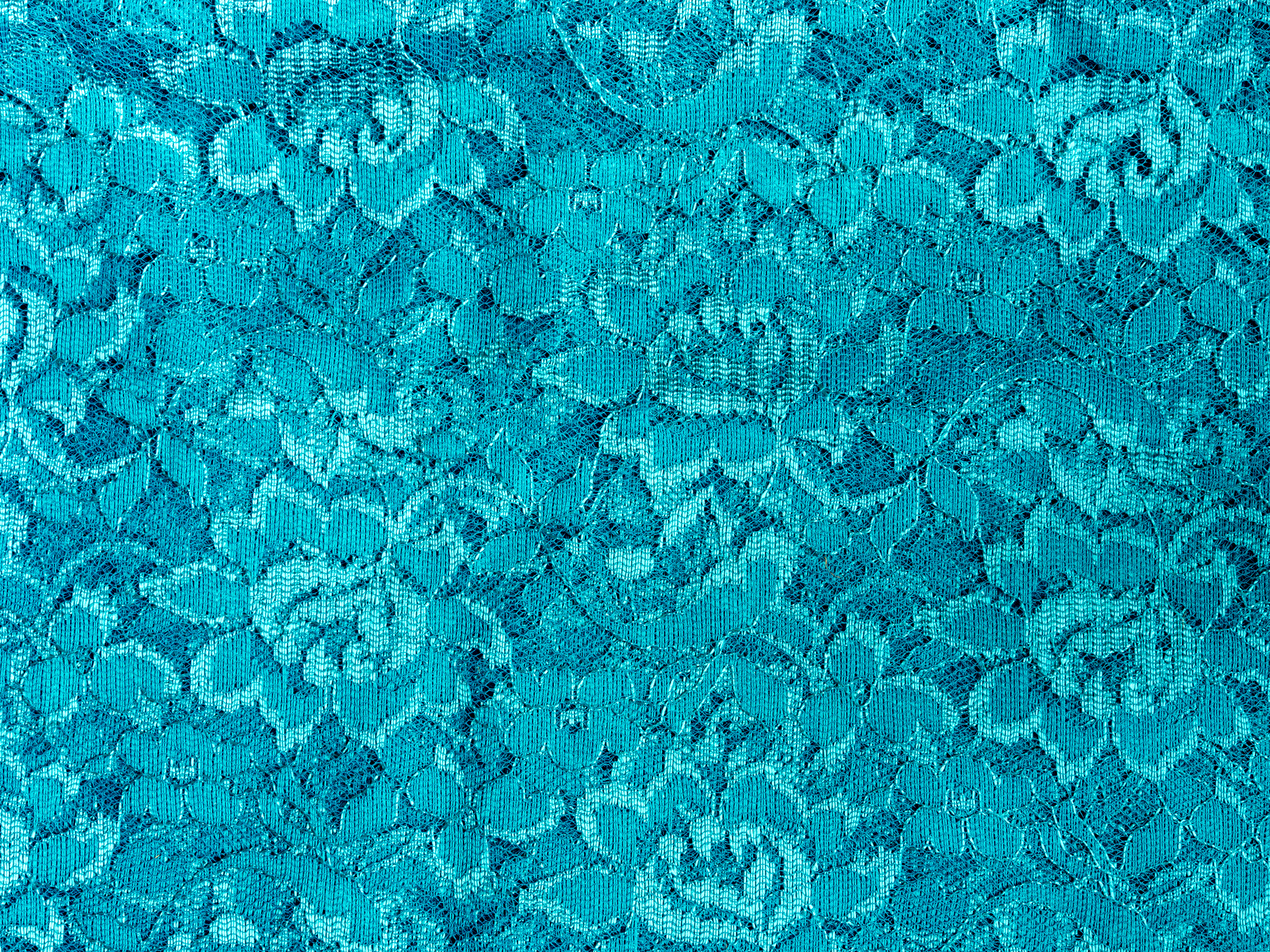 Blue lace fabric texture