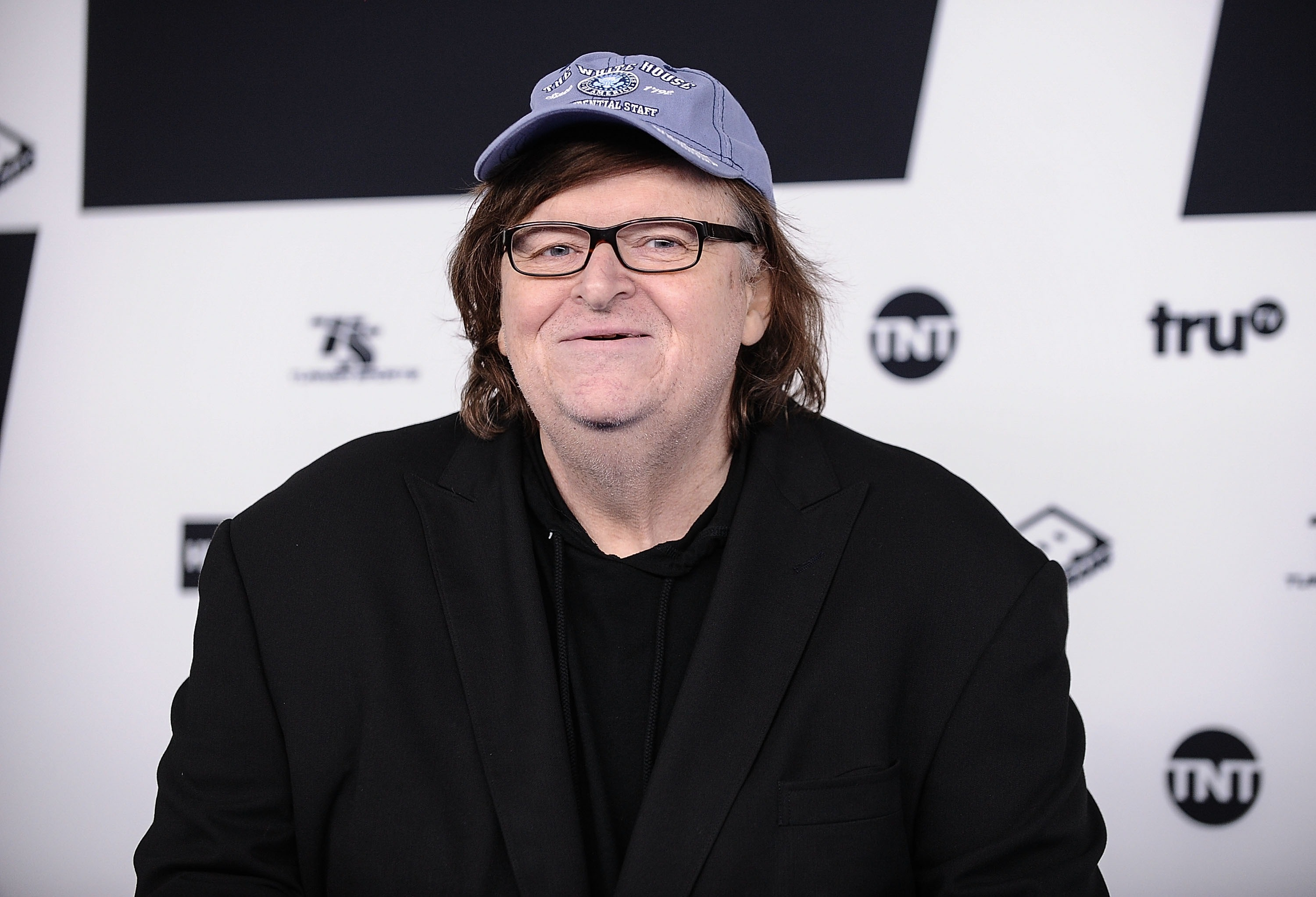 Michael Moore attends at Madison Square Garden in New York on May 17, 2017.