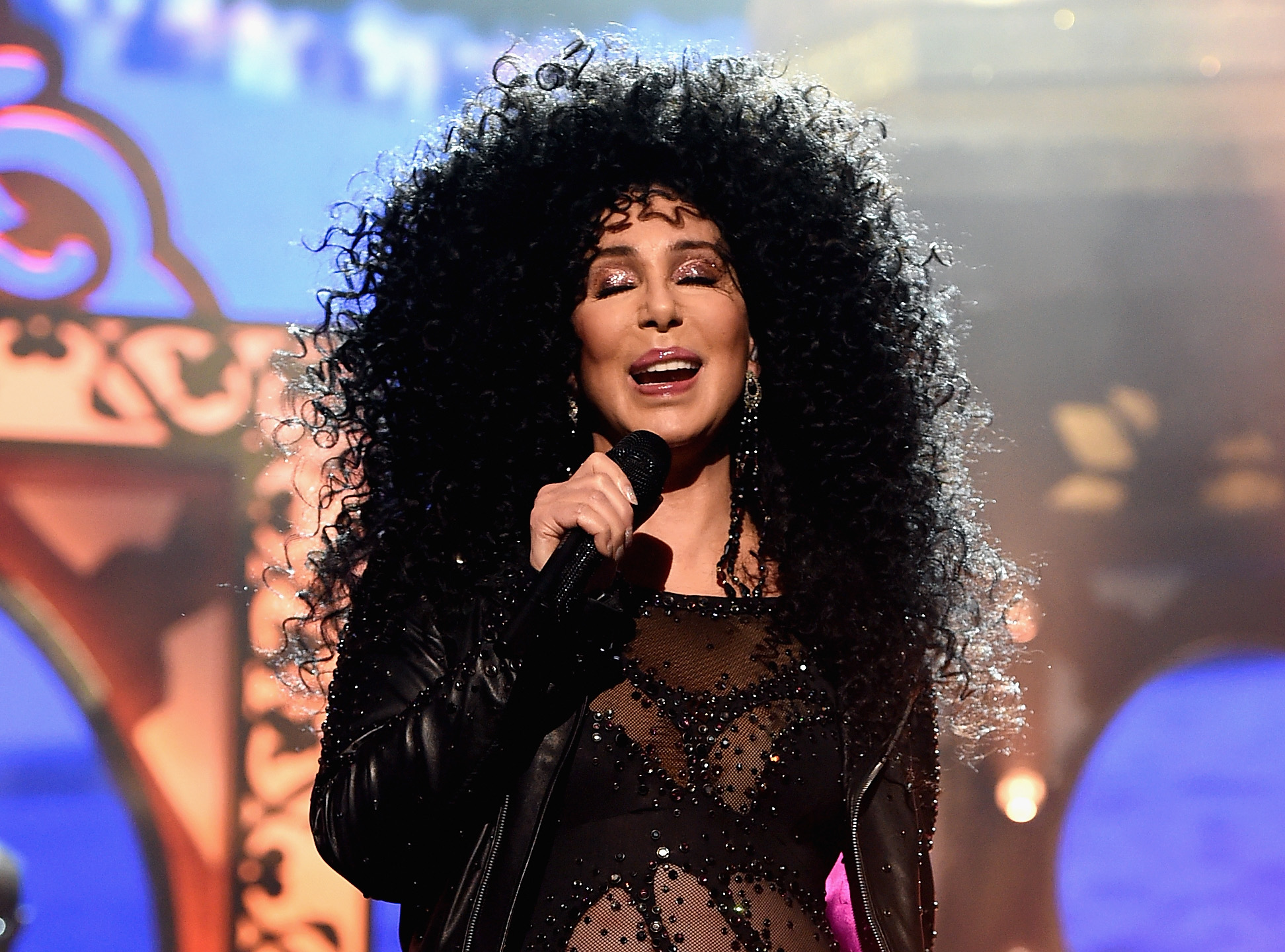 Cher performs onstage during the 2017 Billboard Music Awards in Las Vegas, Nevada, on May 21, 2017.