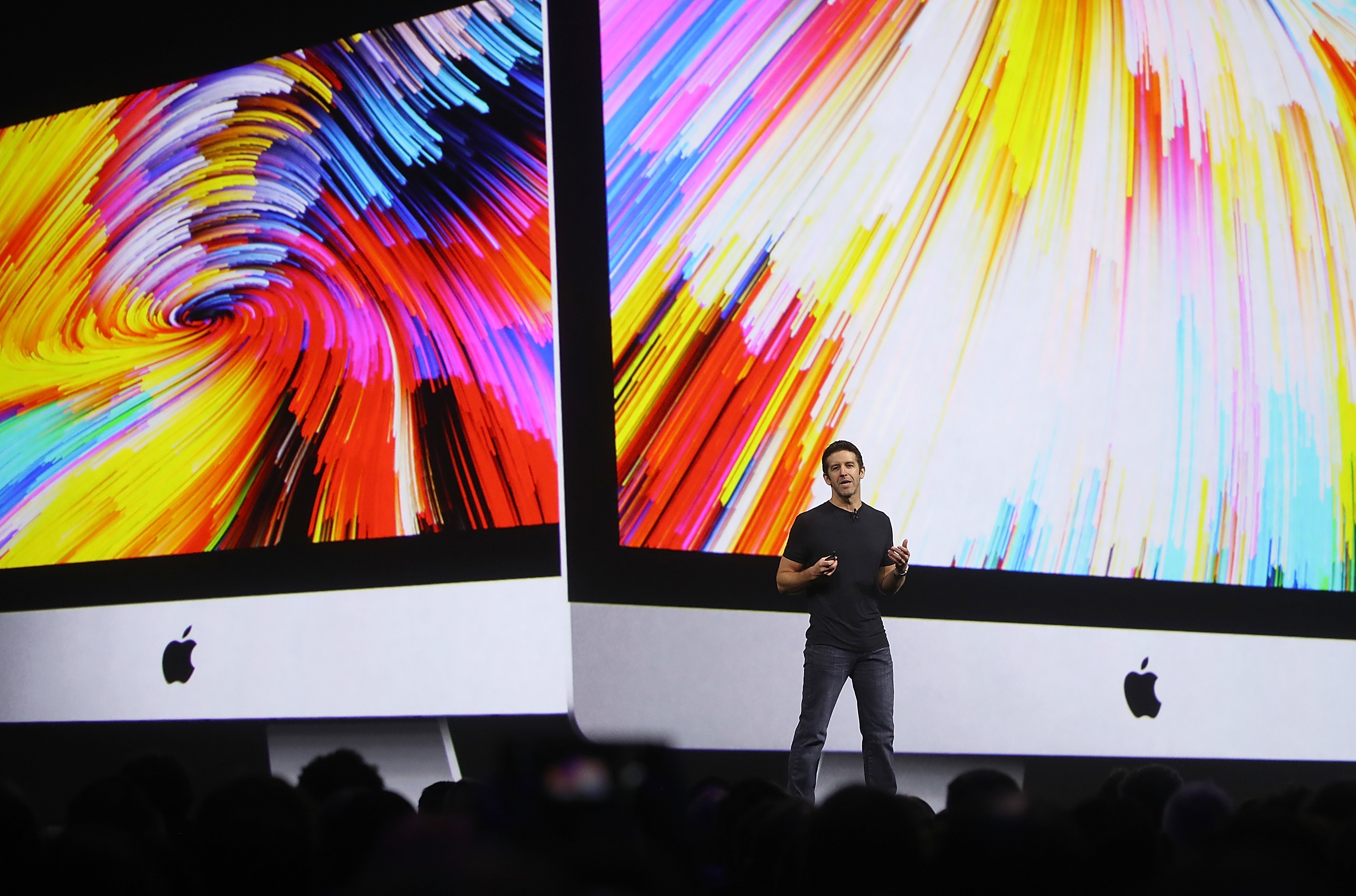 Apple's John Ternus speaks during the 2017 Apple Worldwide Developer Conference (WWDC) at the San Jose Convention Center on June 5, 2017 in San Jose, California.