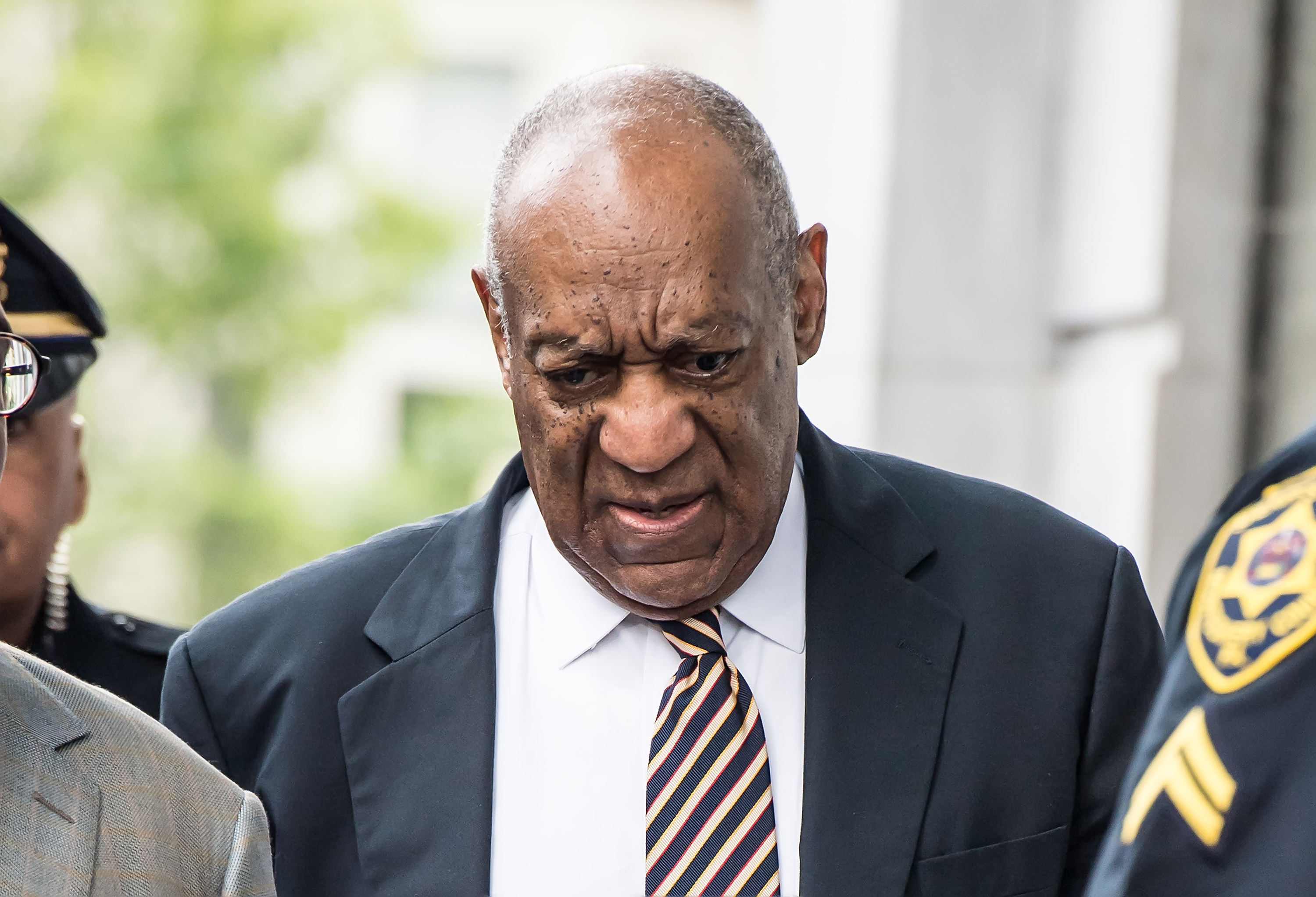 Bill Cosby arrives at Montgomery County Courthouse in Norristown, Penn., on June 14, 2017.