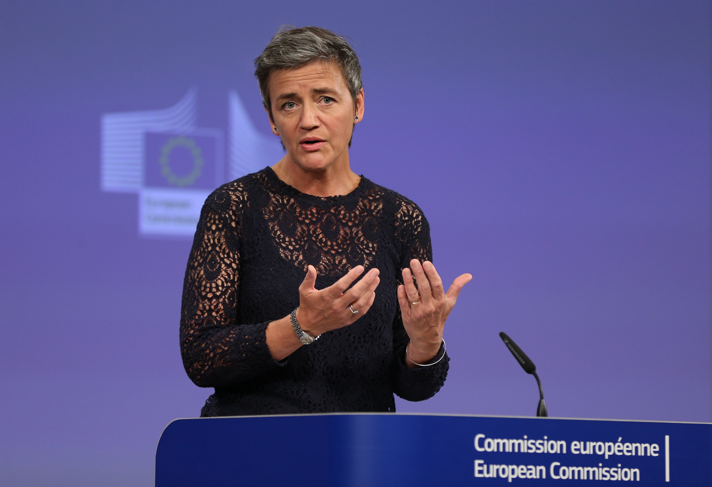 Vestager made headlines in 2016 for ruling Apple owed Ireland around $14.5billion in back taxes