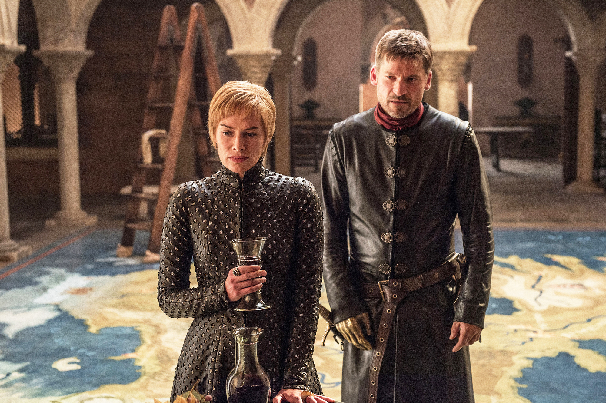 Lena Headey and Nikolaj Coster-Waldau in season 7 of 'Game of Thrones.'