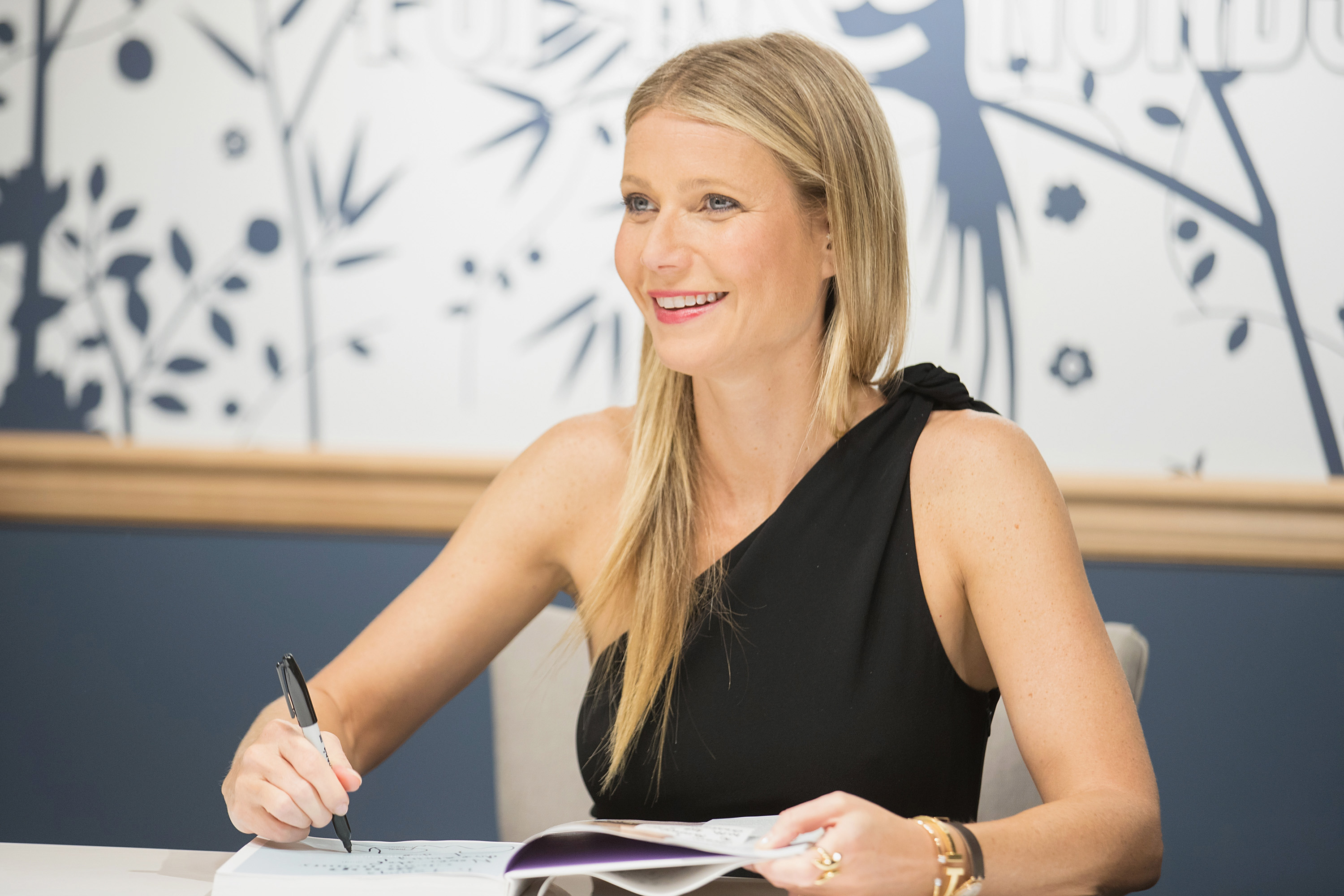 Gwyneth Paltrow visits goop-In@Nordstrom for Book Signingon May 19, 2017 in Seattle, Washington.