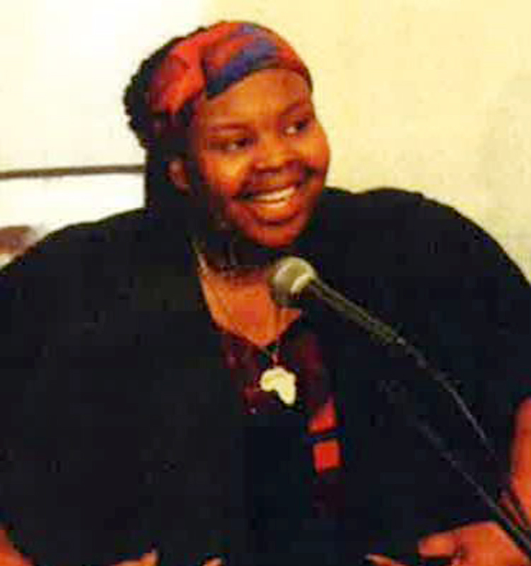 An undated handout photo made available by Britain's London Metropolitan Police Service (MPS) on 20 June 2017 showing Ya-Haddy Sisi Saye, also known as Khadija Saye.