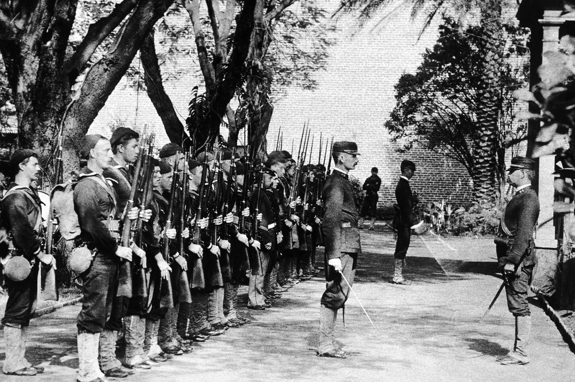 The end of the Hawaiian monarchy, circa 1893.