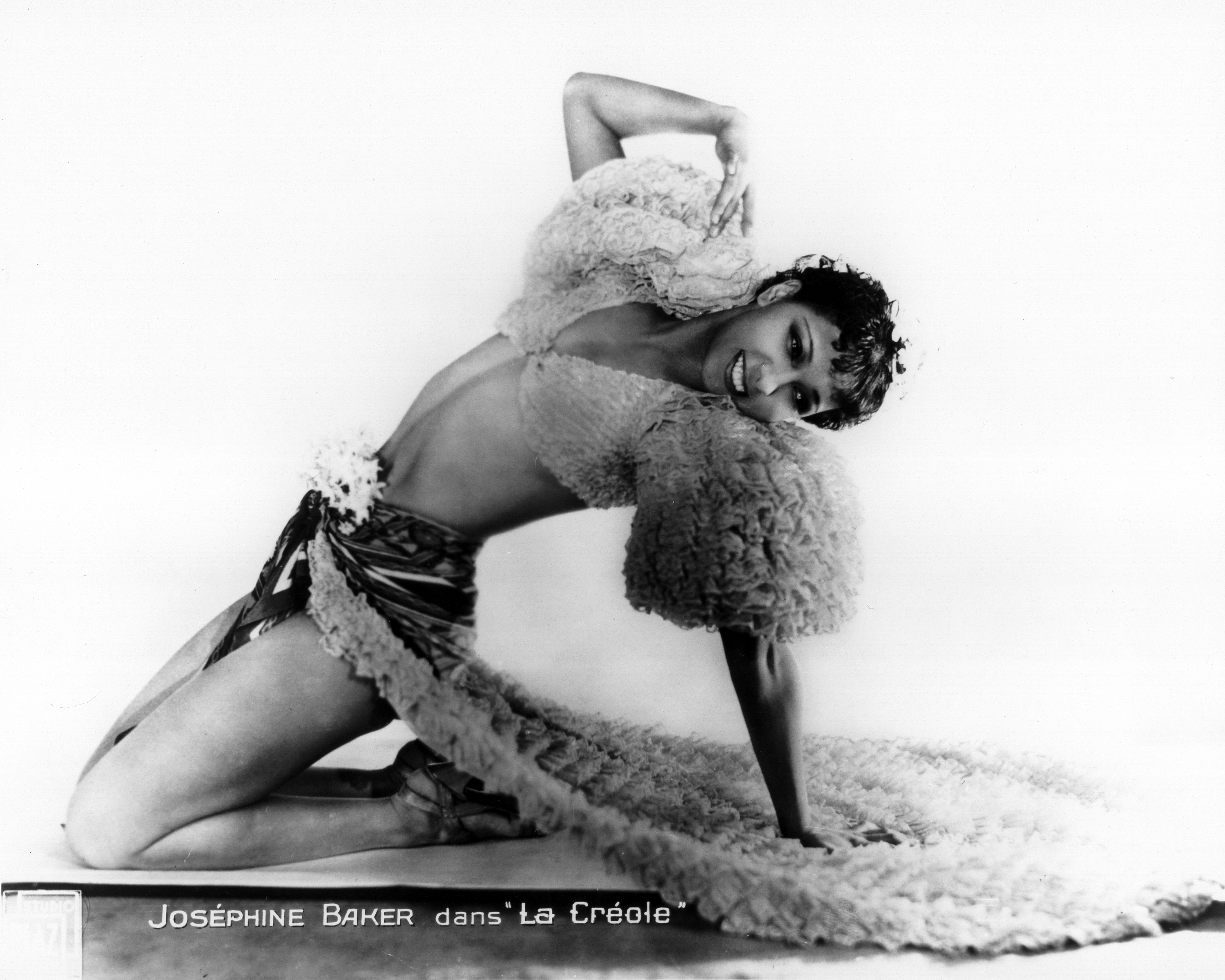 CIRCA 1970:  Photo of Josephine Baker