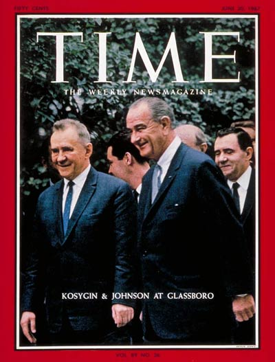 The June 30, 1967, cover of TIME