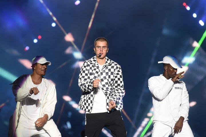 Justin Bieber performs in Rio De Janerio