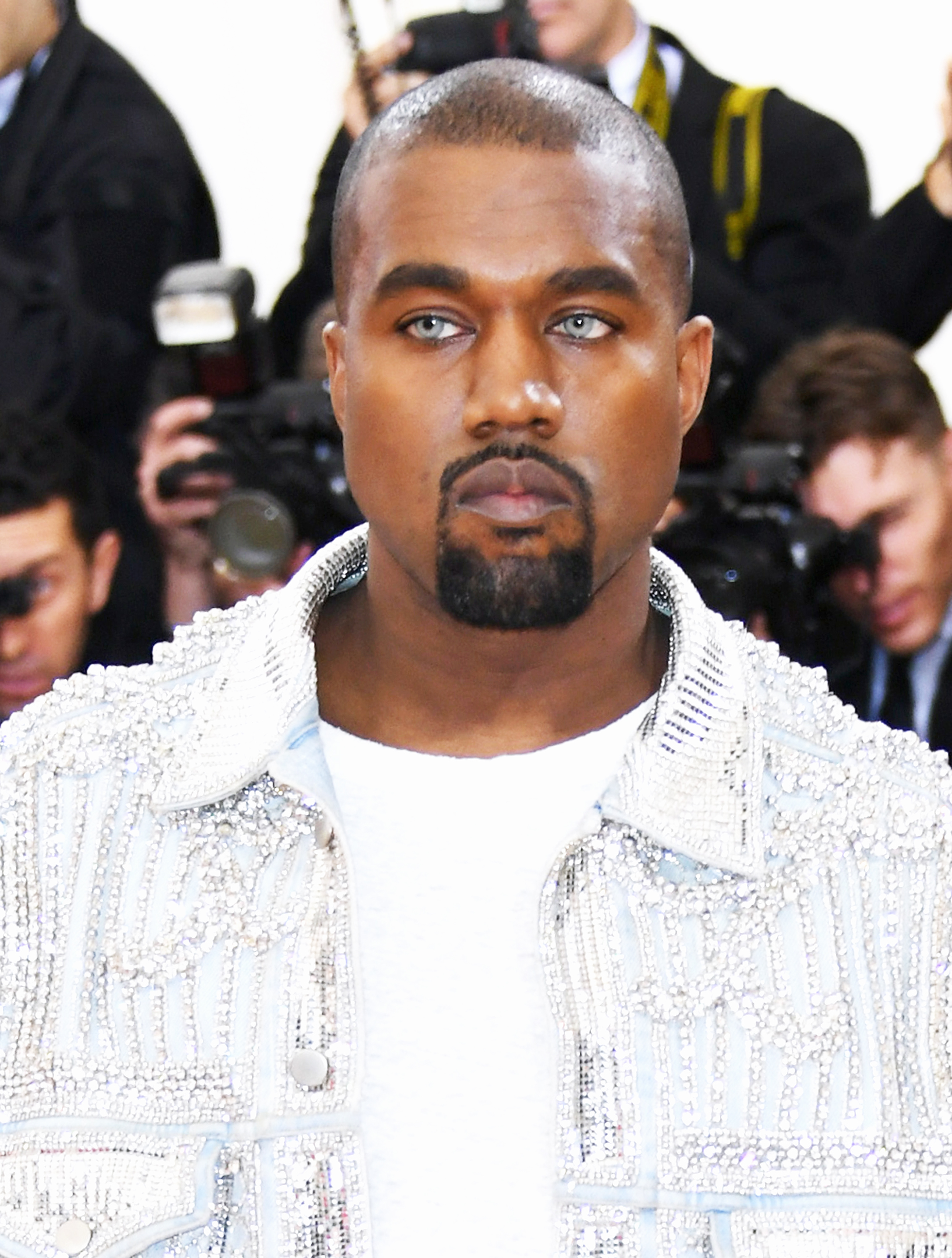 Kanye West attends the Met Gala in New York City, on May 2, 2016.