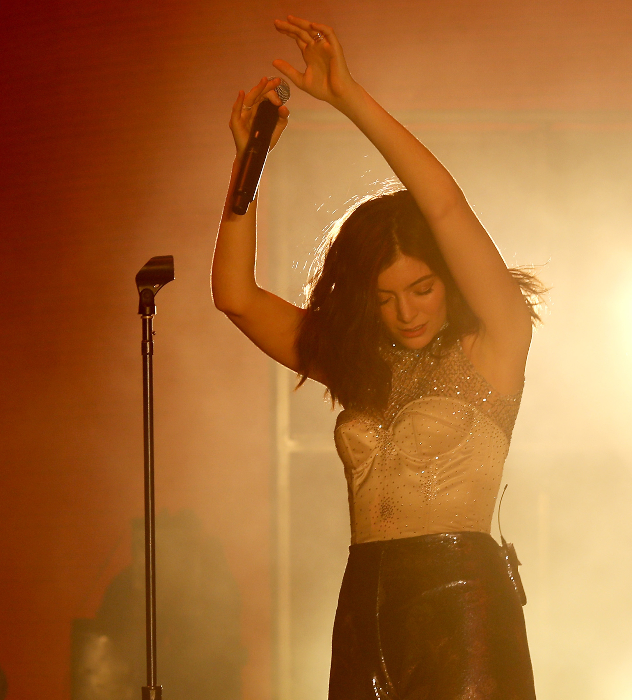 Lorde performs at the music festival Coachella in mid-April