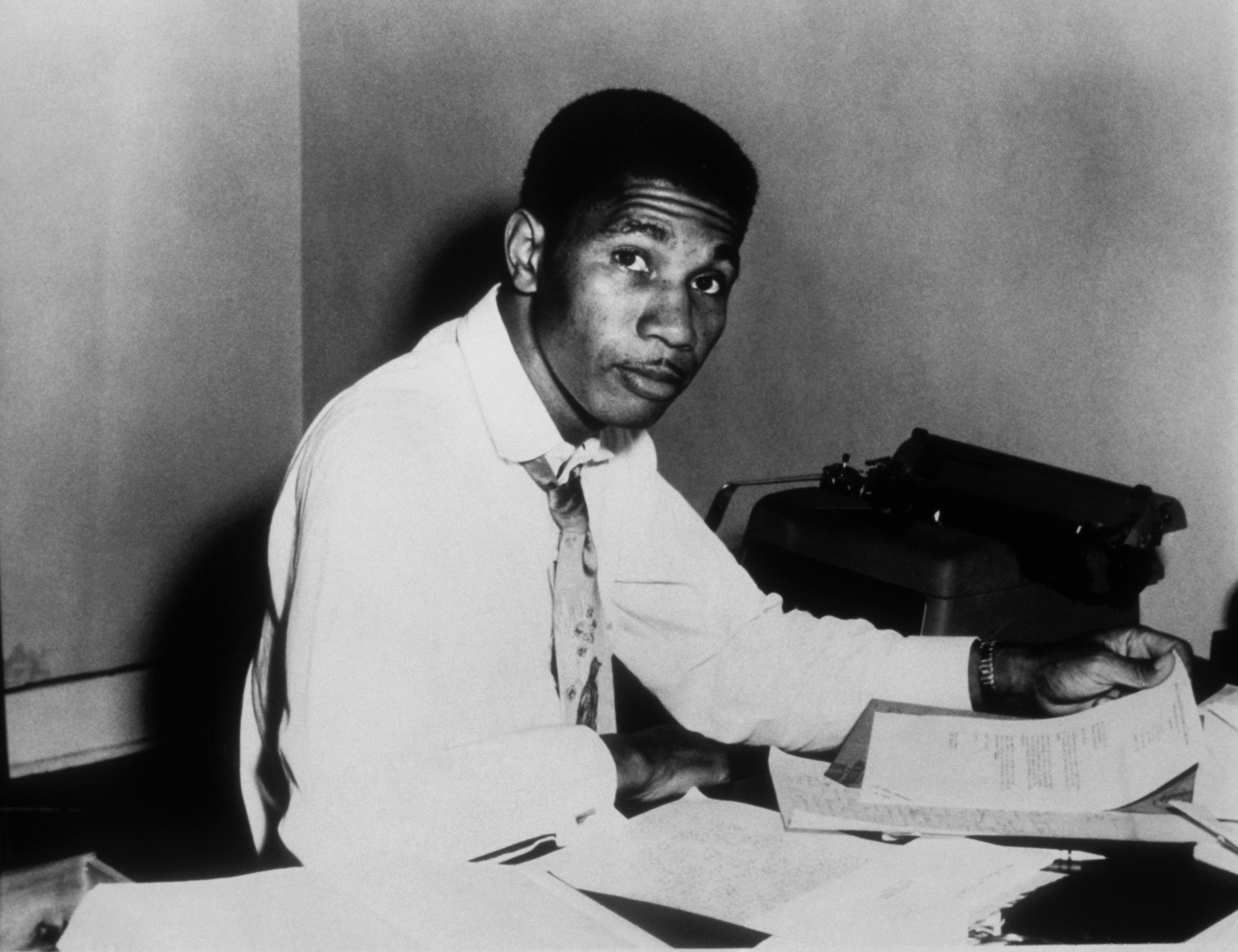 Civil Rights Activist and NAACP Field Secretary Medgar Evers poses for a portrait circa 1960 in Jackson, Mississippi.