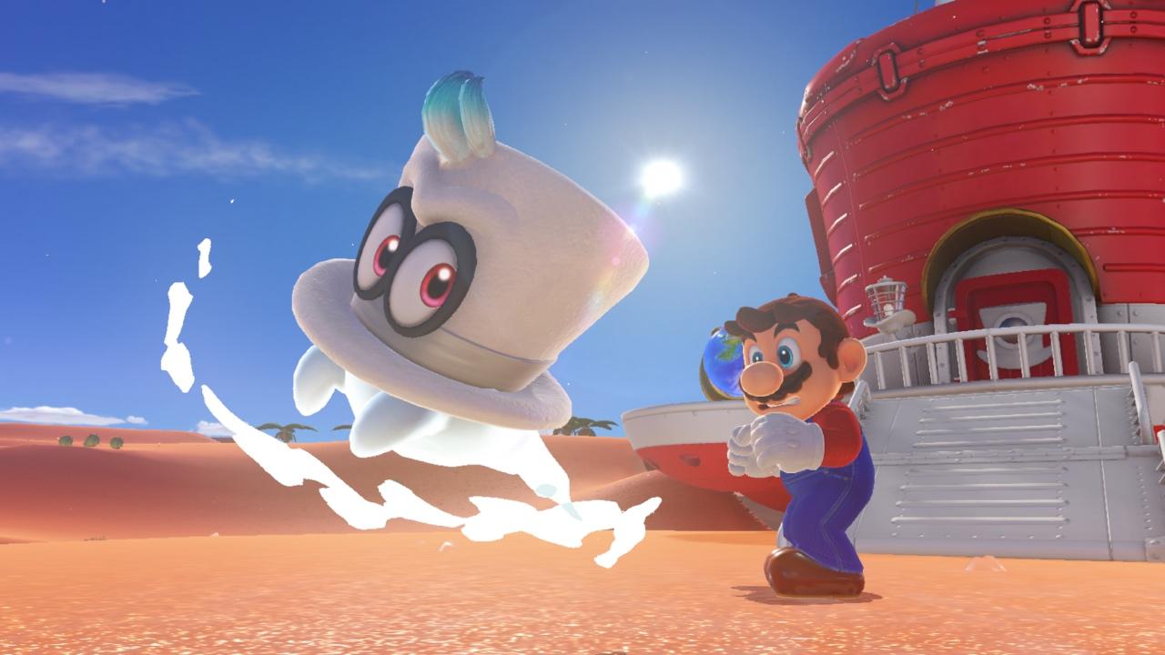 Super Mario Odyssey Inside Mario S Biggest Change In Years