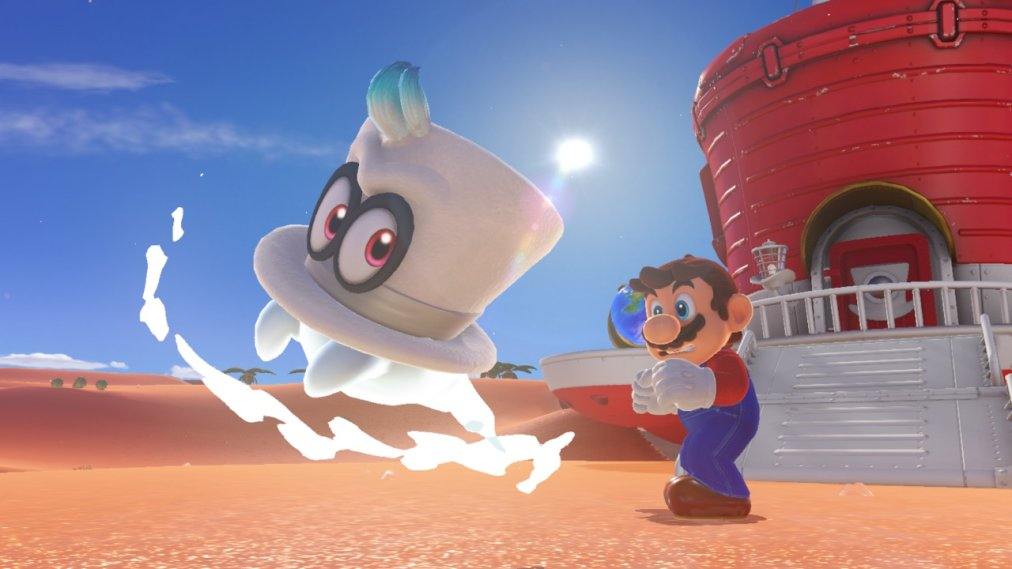 Super Mario Odyssey Inside Mario S Biggest Change In Years Time