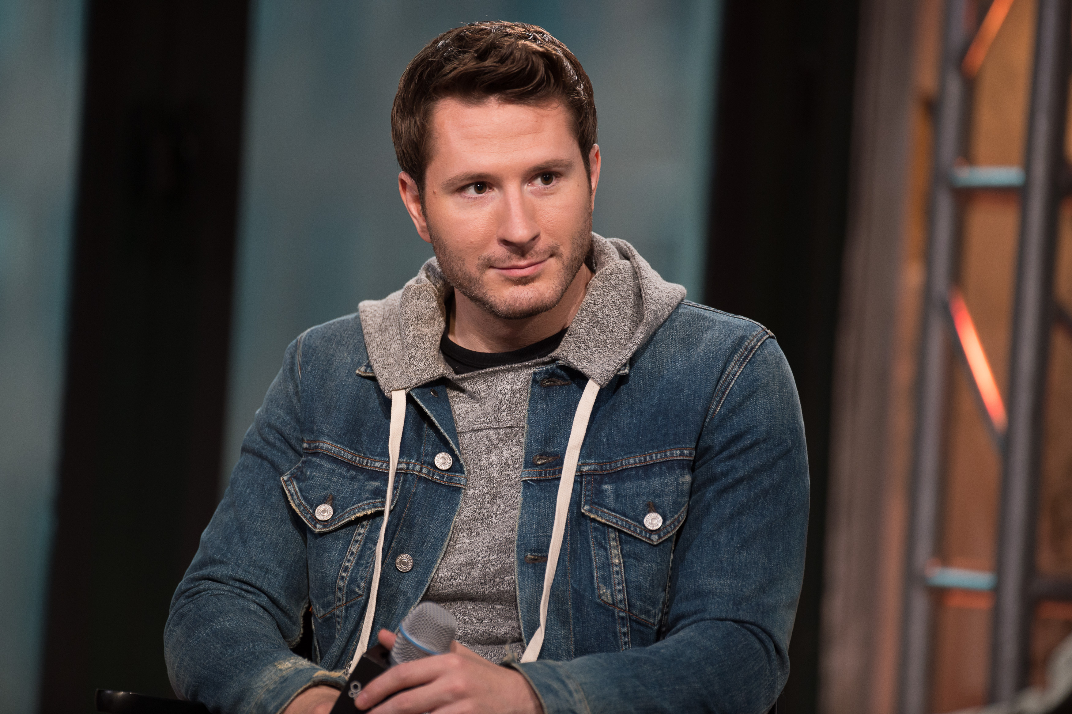 Adam Young attends the AOL BUILD Speaker Series:  Owl City   at AOL Studios In New York on July 14, 2015 in New York City.