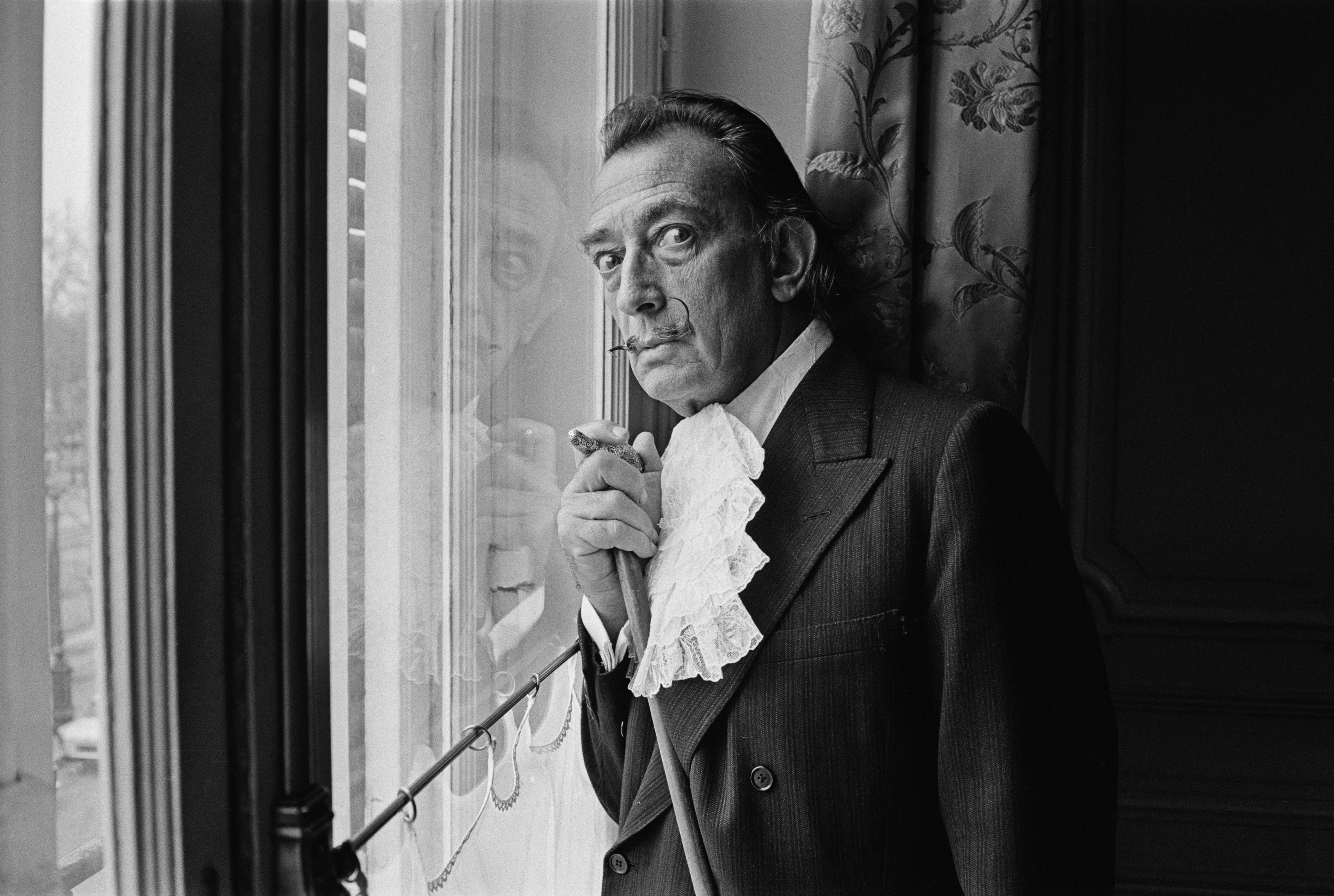 Spanish surrealist painter Salvador Dali (1904 - 1989), 29th December 1964.