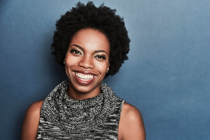Sasheer Zamata of the film 'Deidra & Laney Rob A Train' poses for a portrait at the 2017 Sundance Film Festival Getty Images Portrait Studio presented by DIRECTV on January 23, 2017 in Park City, Utah. (Photo by Maarten de Boer/Getty Images Portrait)