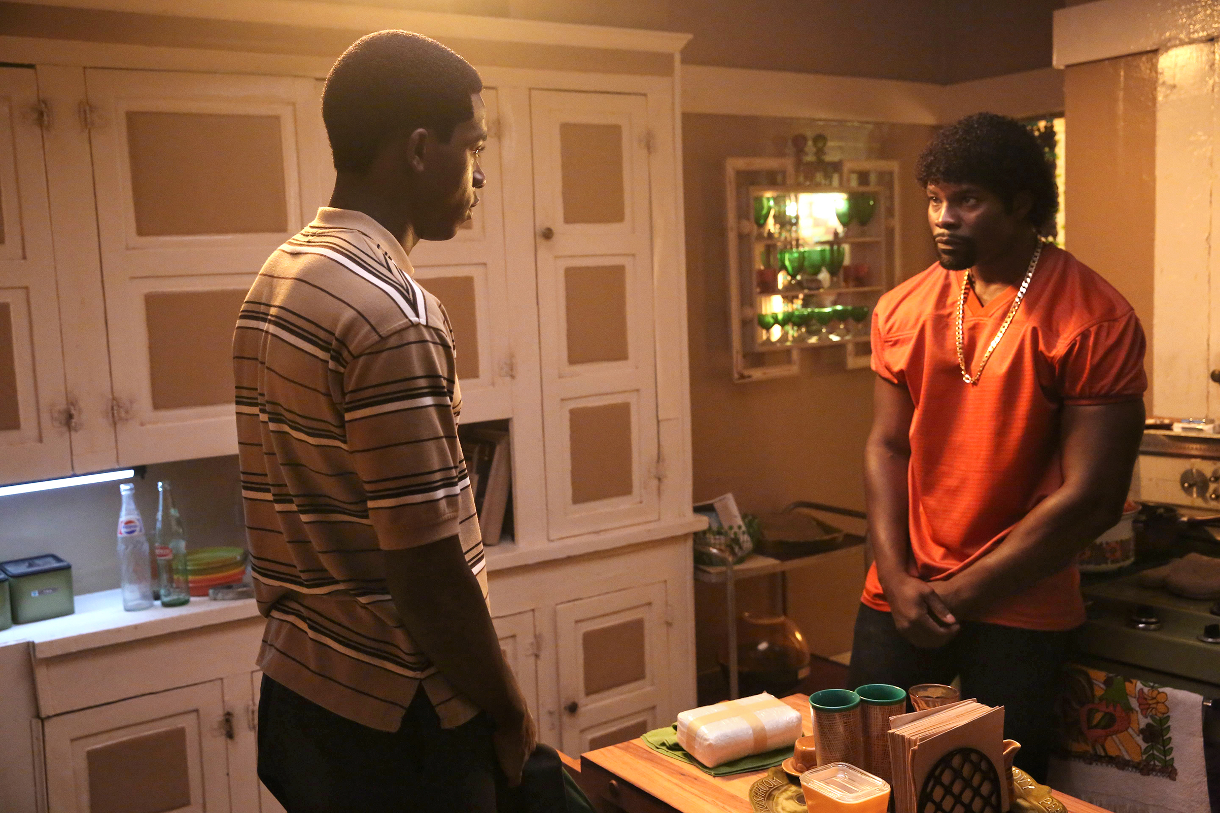 Idris and Joseph, trapped in a system that the younger man hopes to master