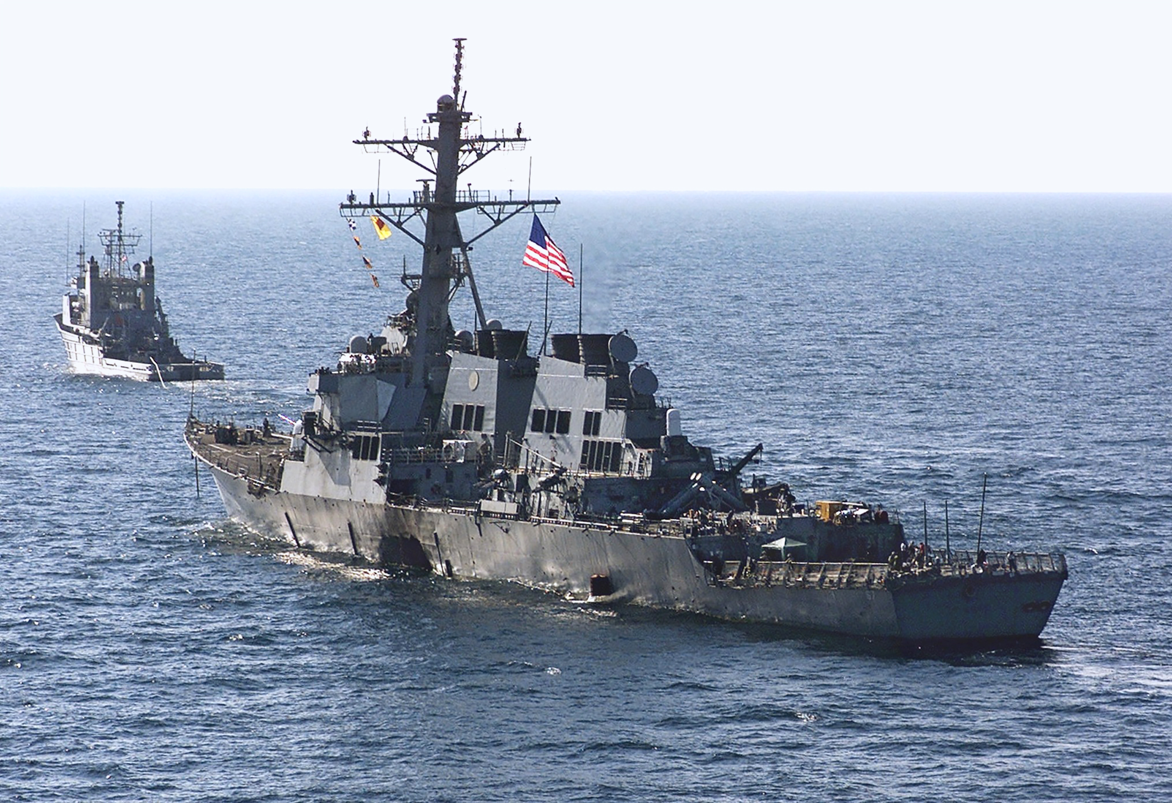 The U.S.S. Cole was attacked in Yemen on Oct. 12, 2000
