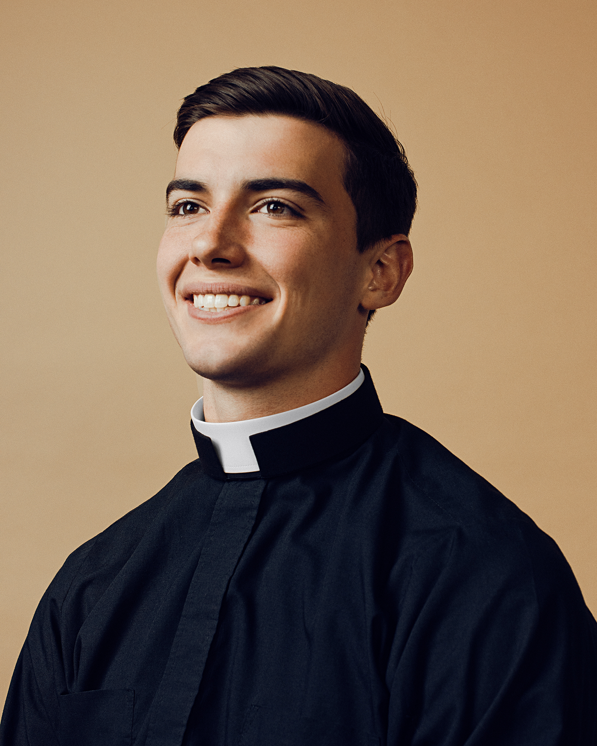 Nicholas Morrison, 22, graduated in May with a philosophy degree from Catholic University of America and will continue his seminary studies in Rome next year