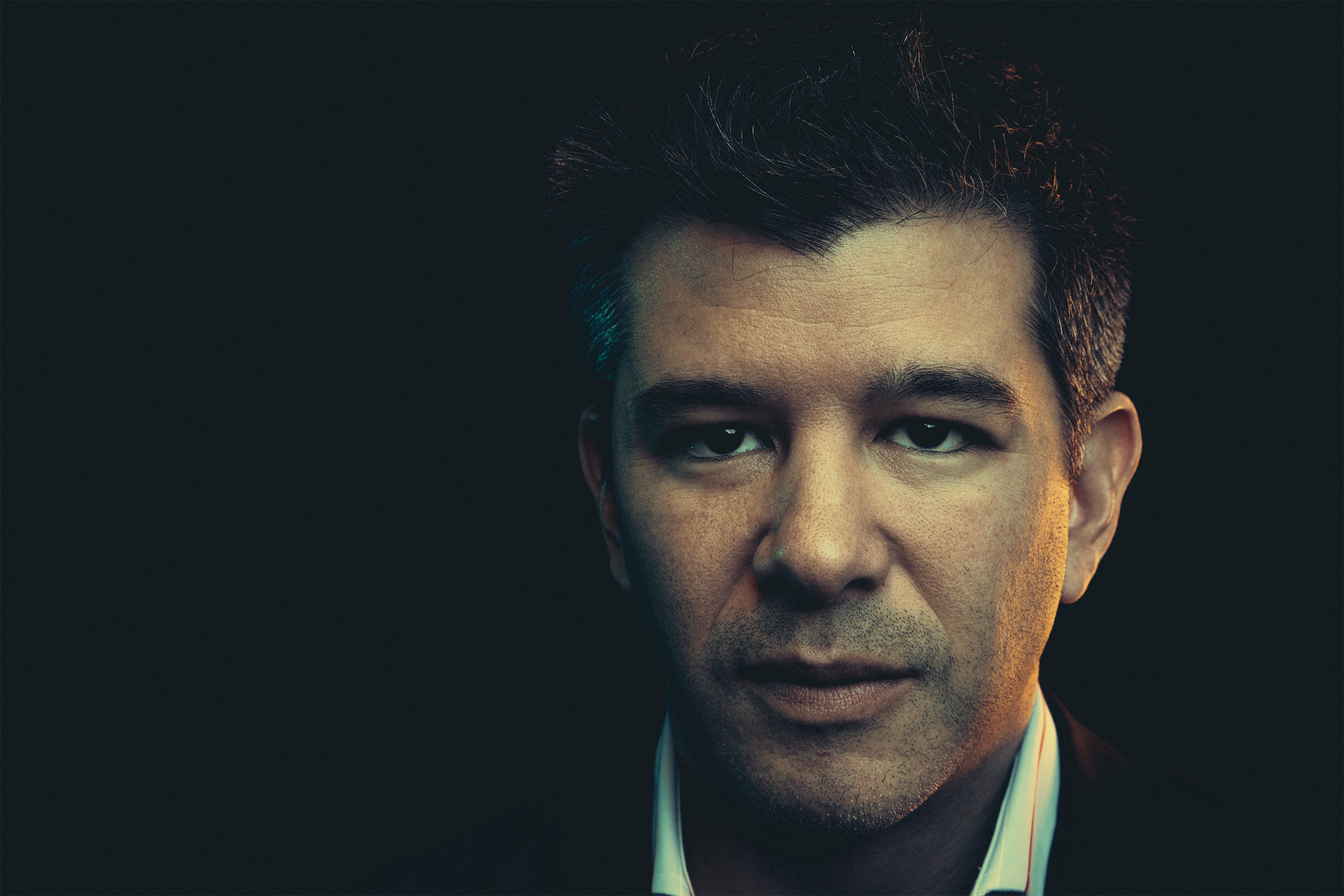 Uber CEO Travis Kalanick appears in Washington, DC on November 6, 2013.