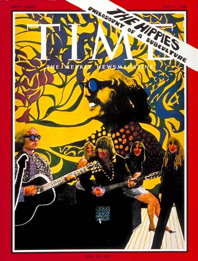 The July 7, 1967, cover of TIME